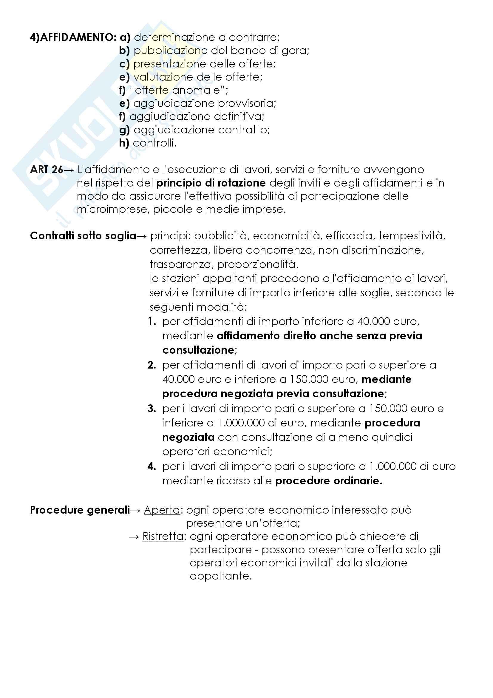 Attività edilizia, appalti, esproprio Pag. 16