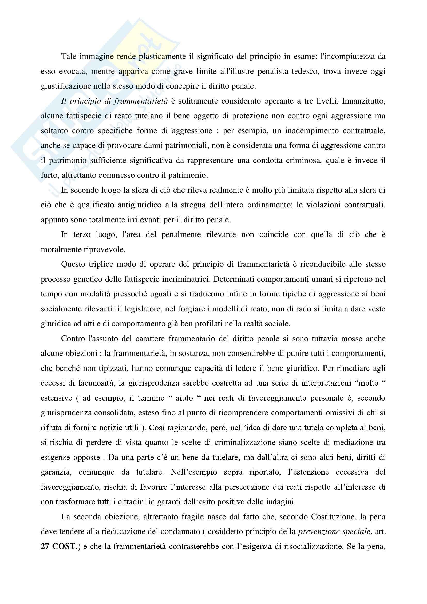 Diritto penale dell'organizzazione - Appunti Pag. 11