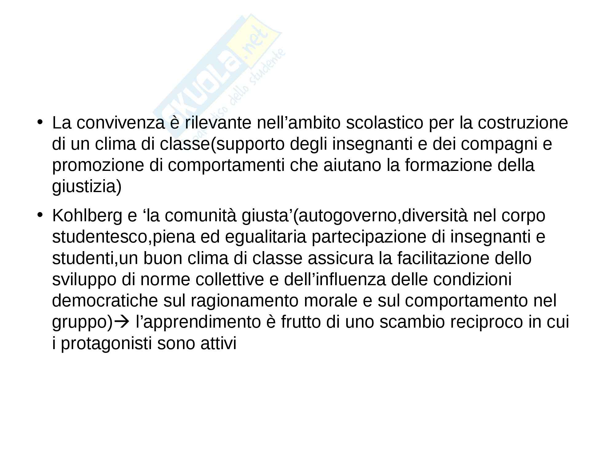 Riassunto esame Psicologia, prof. Petrillo, libro consigliato Senso di giustizia e benessere in adolescenza, Petrillo Pag. 6