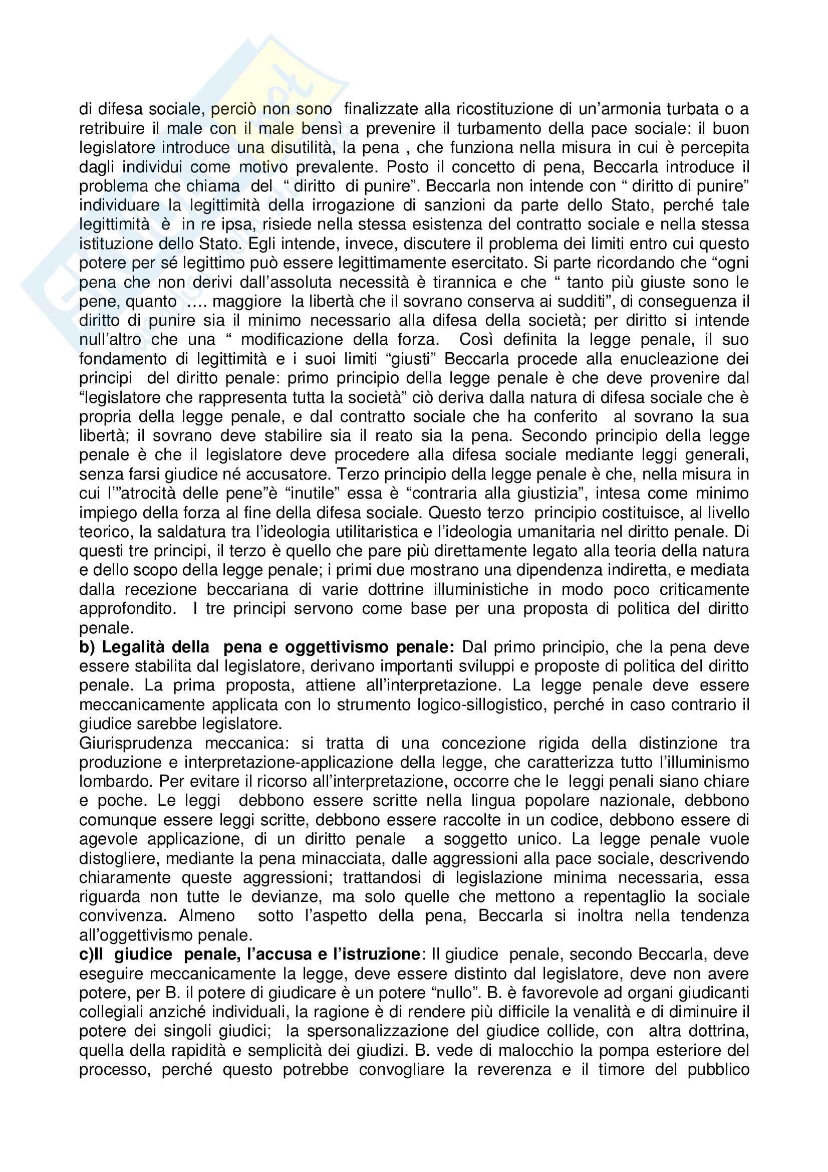 Riassunto esame Storia del diritto, prof. Tarello, libro consigliato Storia della cultura giuridica moderna, Tarello Pag. 21