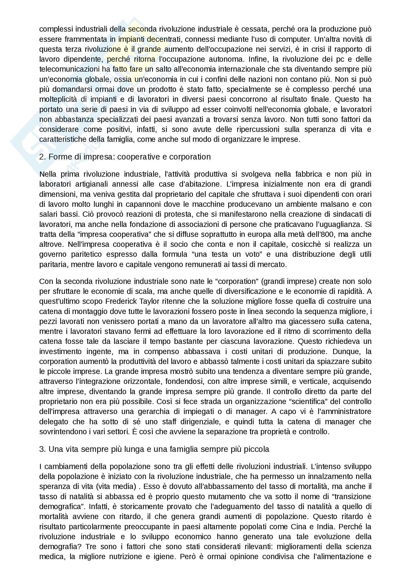 Storia economica Pag. 16