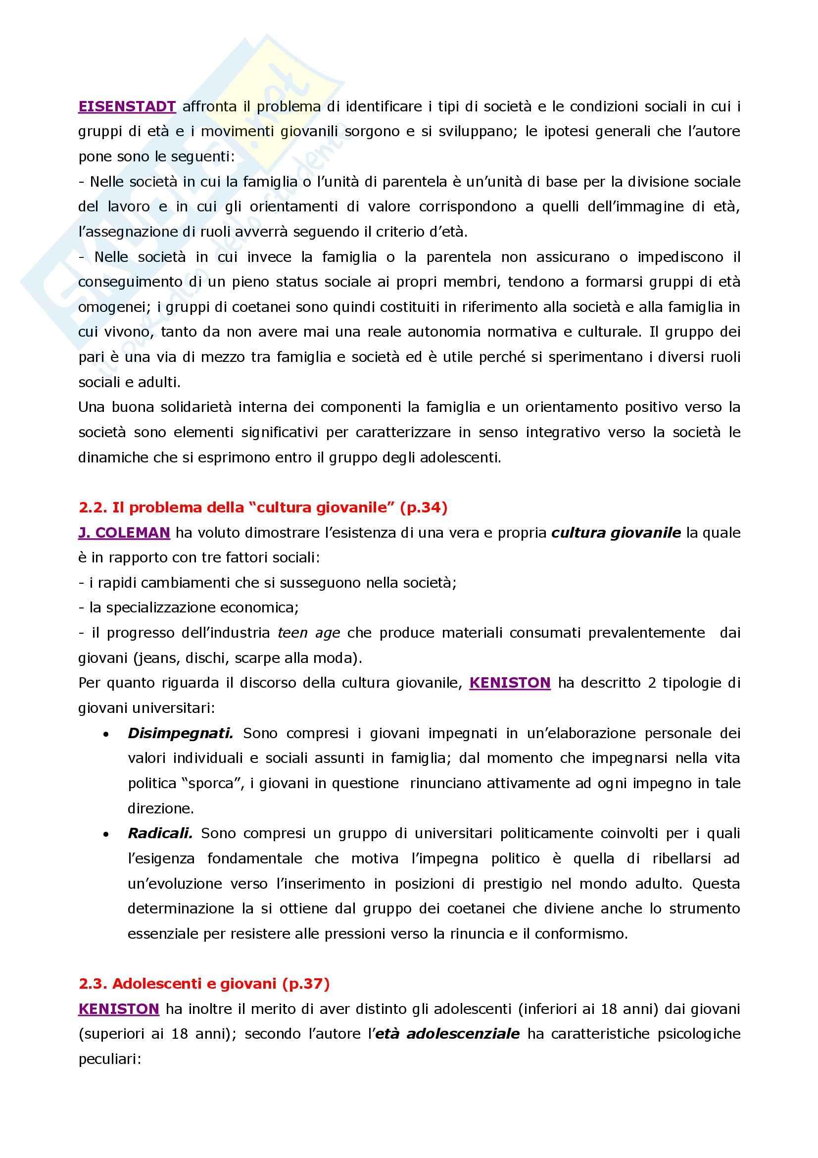 Psicologia dell'adolescenza Pag. 6