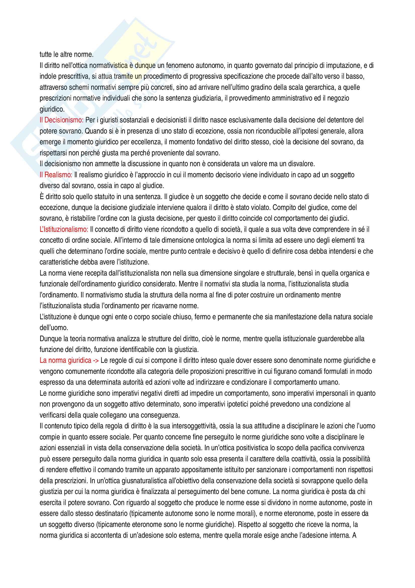 Riassunto esame diritto costituzionale, Vignudelli, libro consigliato Diritto costituzionale, Giappichelli editore Pag. 2