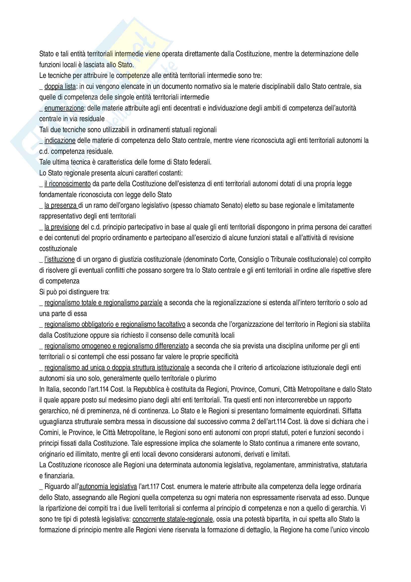Riassunto esame diritto costituzionale, Vignudelli, libro consigliato Diritto costituzionale, Giappichelli editore Pag. 21