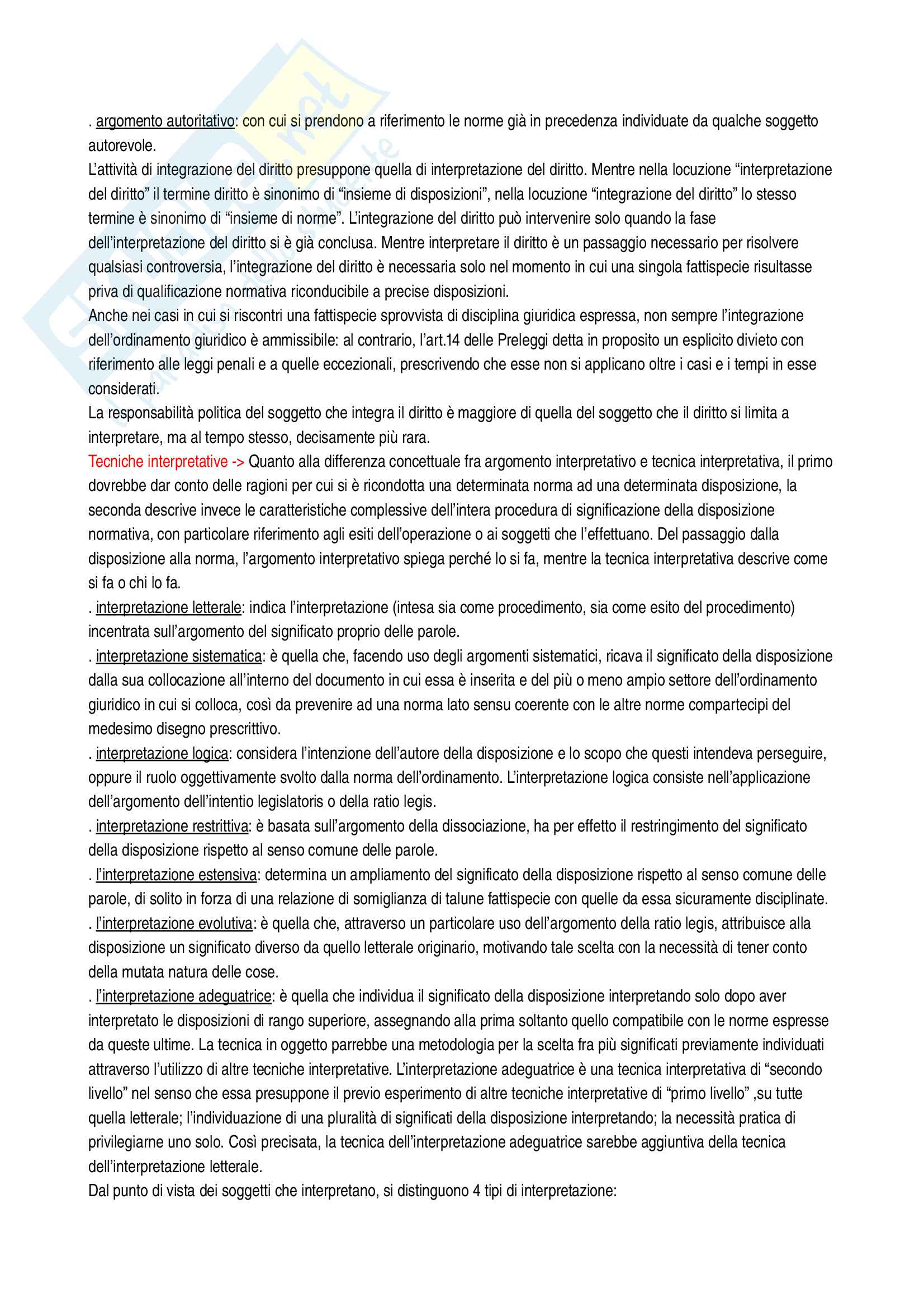 Riassunto esame diritto costituzionale, Vignudelli, libro consigliato Diritto costituzionale, Giappichelli editore Pag. 6