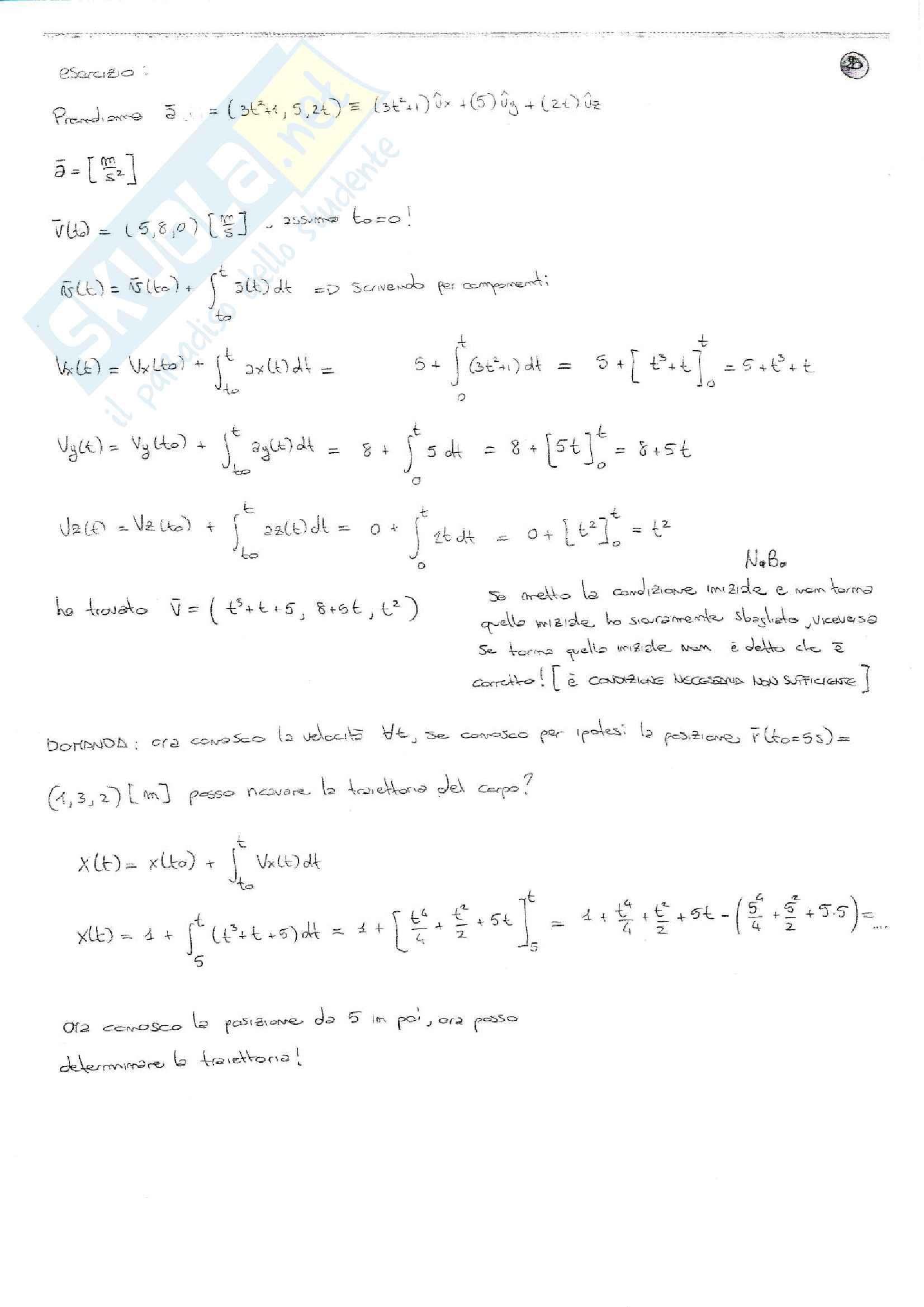 Riassunto e sintesi in schemi esame Fisica 1, prof. Barucca, libri consigliati: Elementi di Fisica - Meccanica - Termodinamica, Mazzoldi - Nigro - Voci; Fisica 1, Vannini - Gettys; Fisica - Volume 1, Mazzoldi - Nigro - Voci Pag. 21