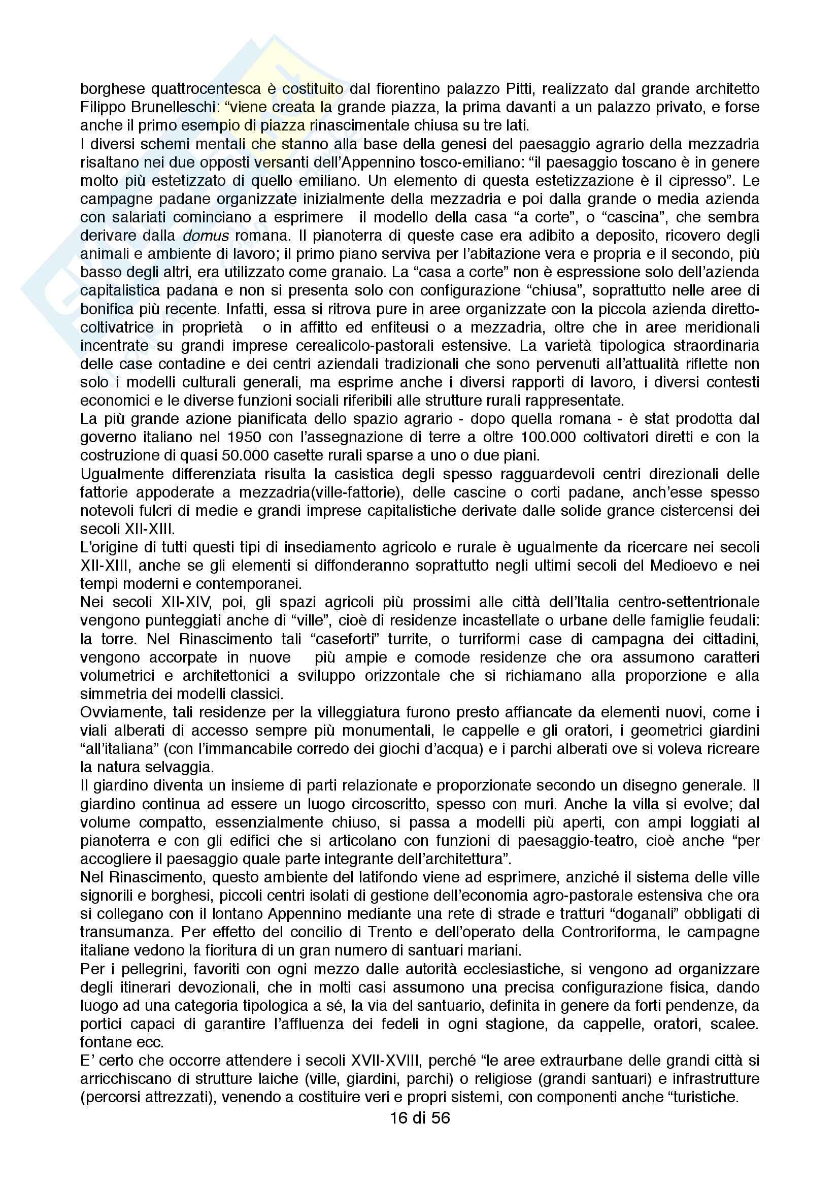 Sunto principale per l'esame di Geografia Storica, Docente Puttilli/Rombai Pag. 16