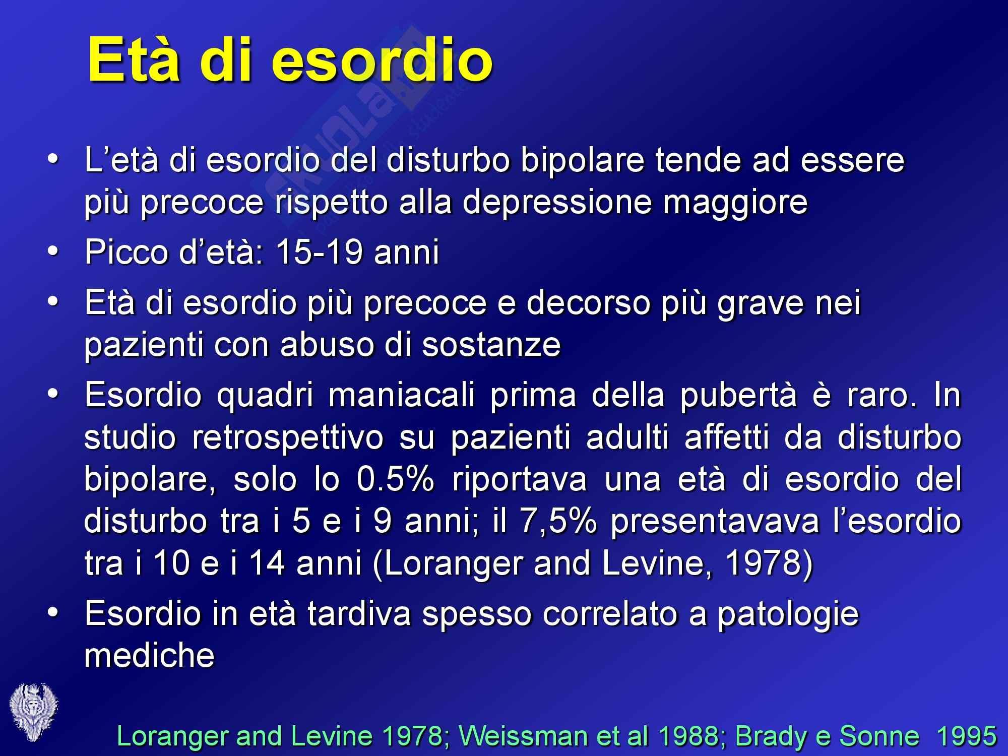 Psichiatria - disturbo bipolare Pag. 16