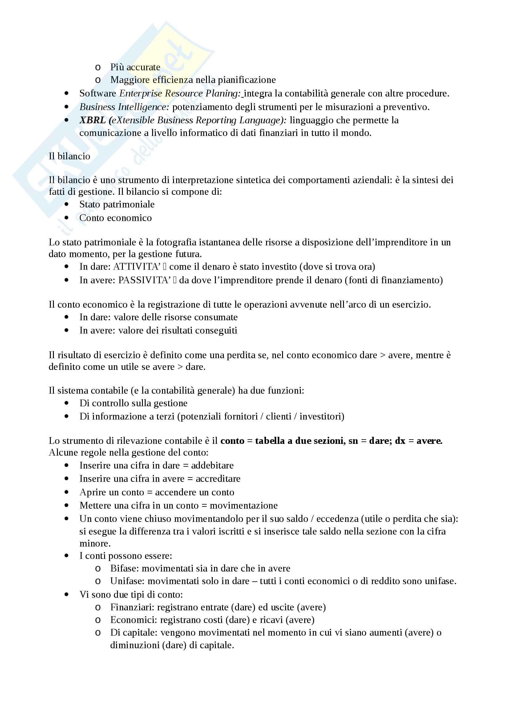 Economia aziendale - Appunti seconda parte Pag. 2