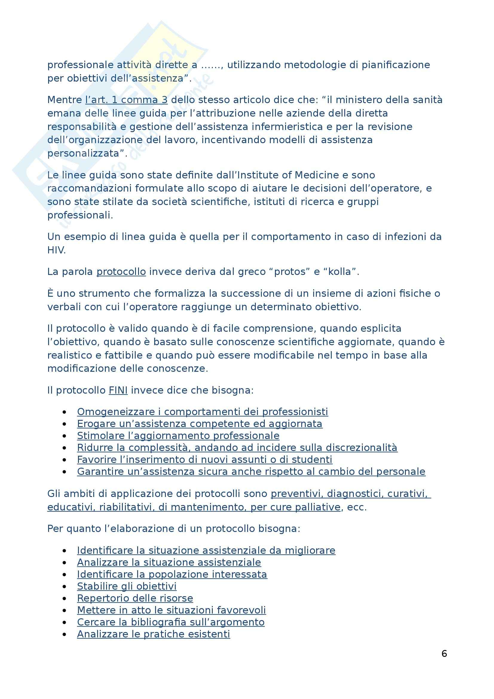 Infermieristica generale - infermieristica relazionale Pag. 6