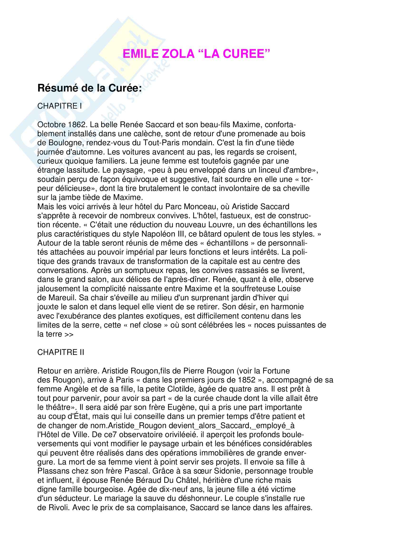 appunto M. Zanola Letteratura francese