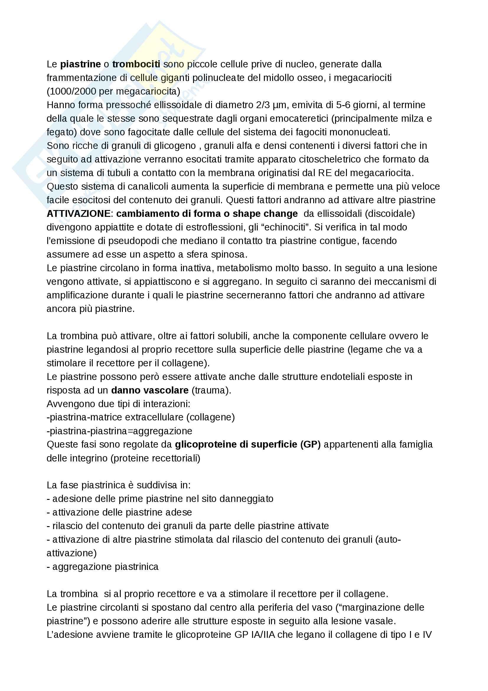 appunto R. Gennaro Biochimica