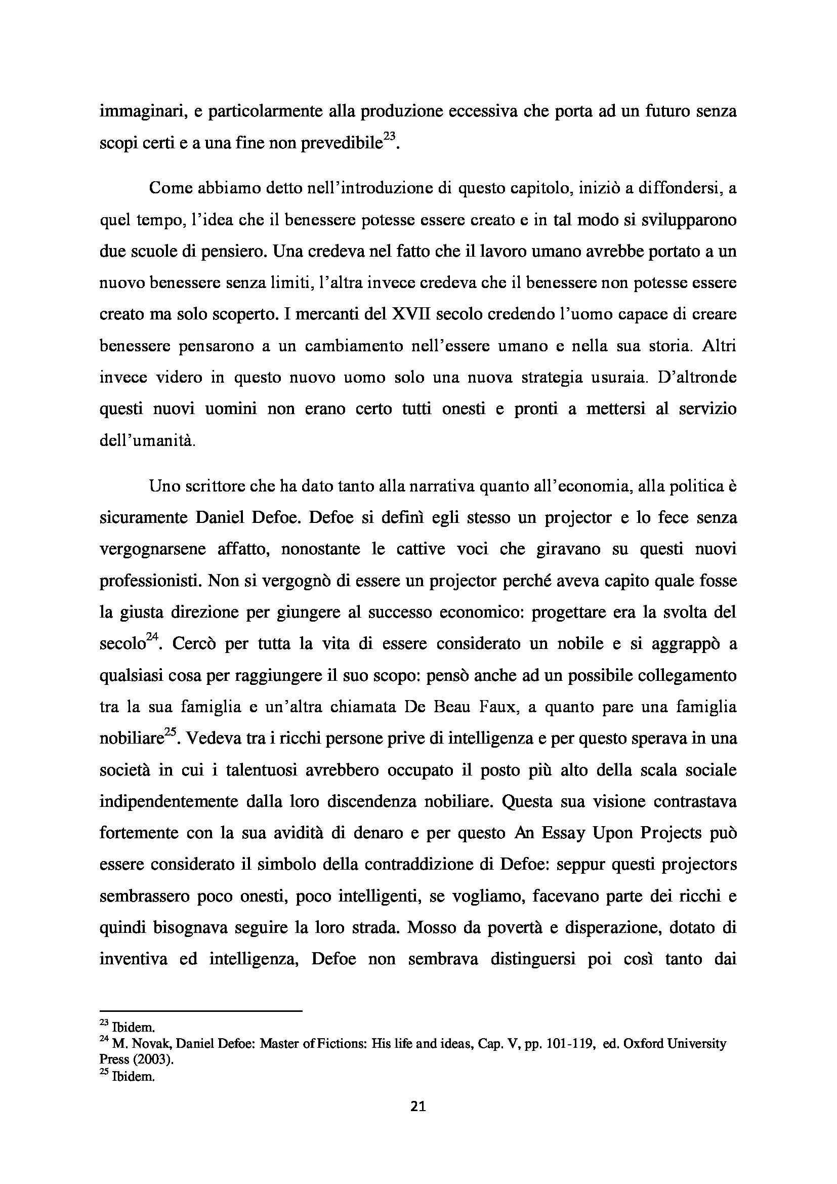 Tesi - A Modest Proposal Jonathan Swift Pag. 21