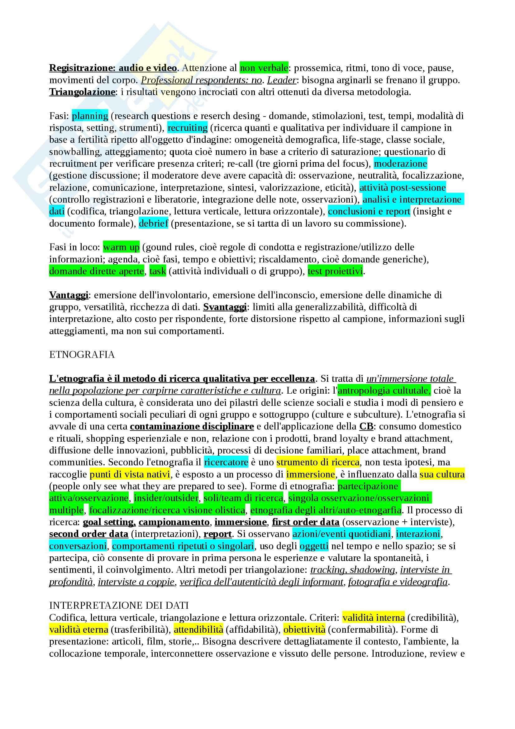 Riassunto esame Understanding Consumer 2, prof. Borghini Pag. 6