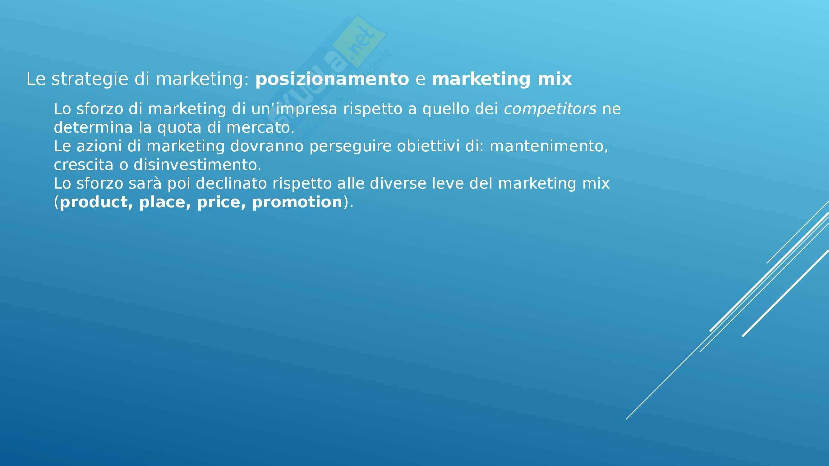Riassunto esame Gestione Aziendale: Marketing, prof. Spina Pag. 36