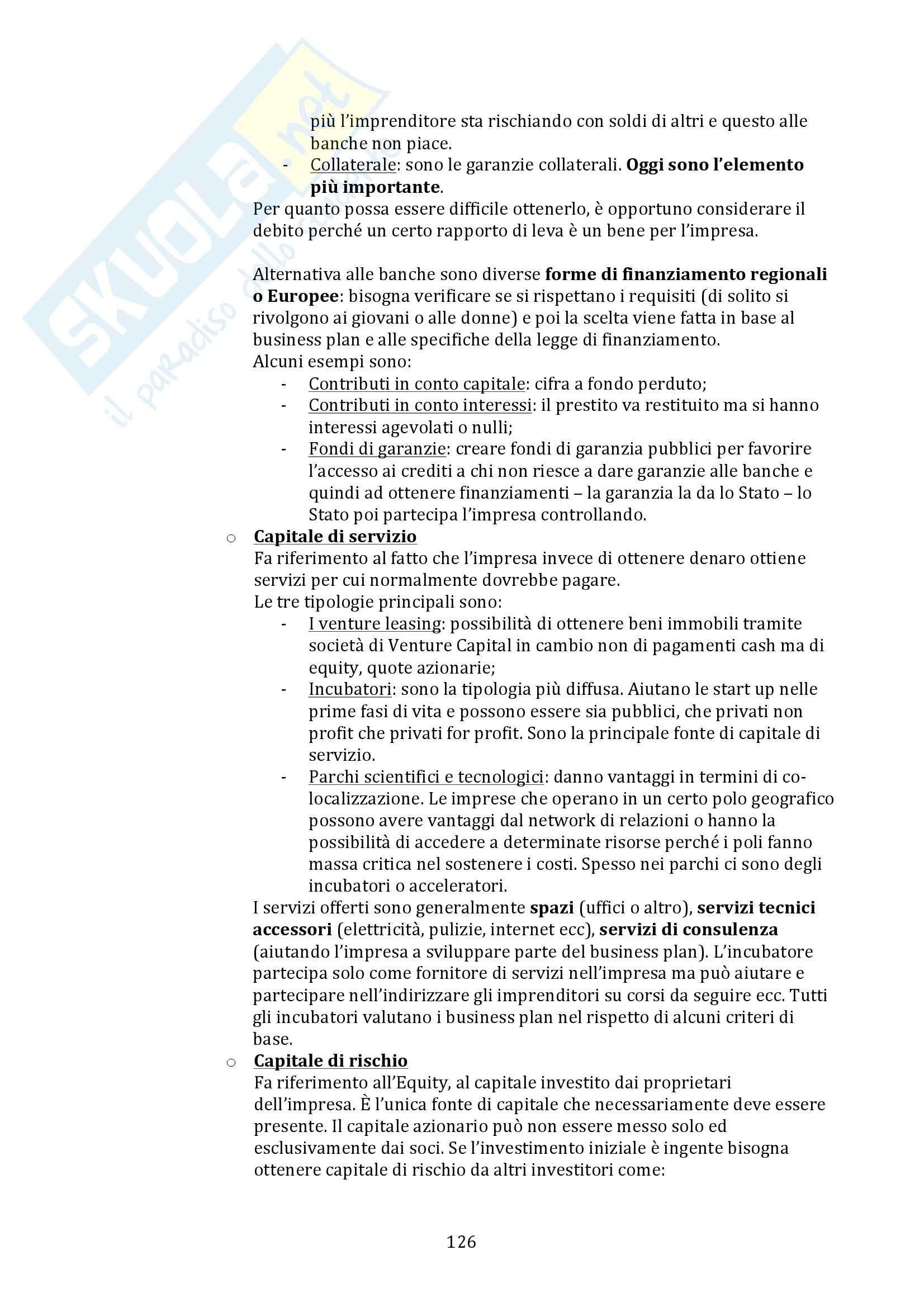 Strategia e Sistemi di Pianificazione - Appunti Pag. 126
