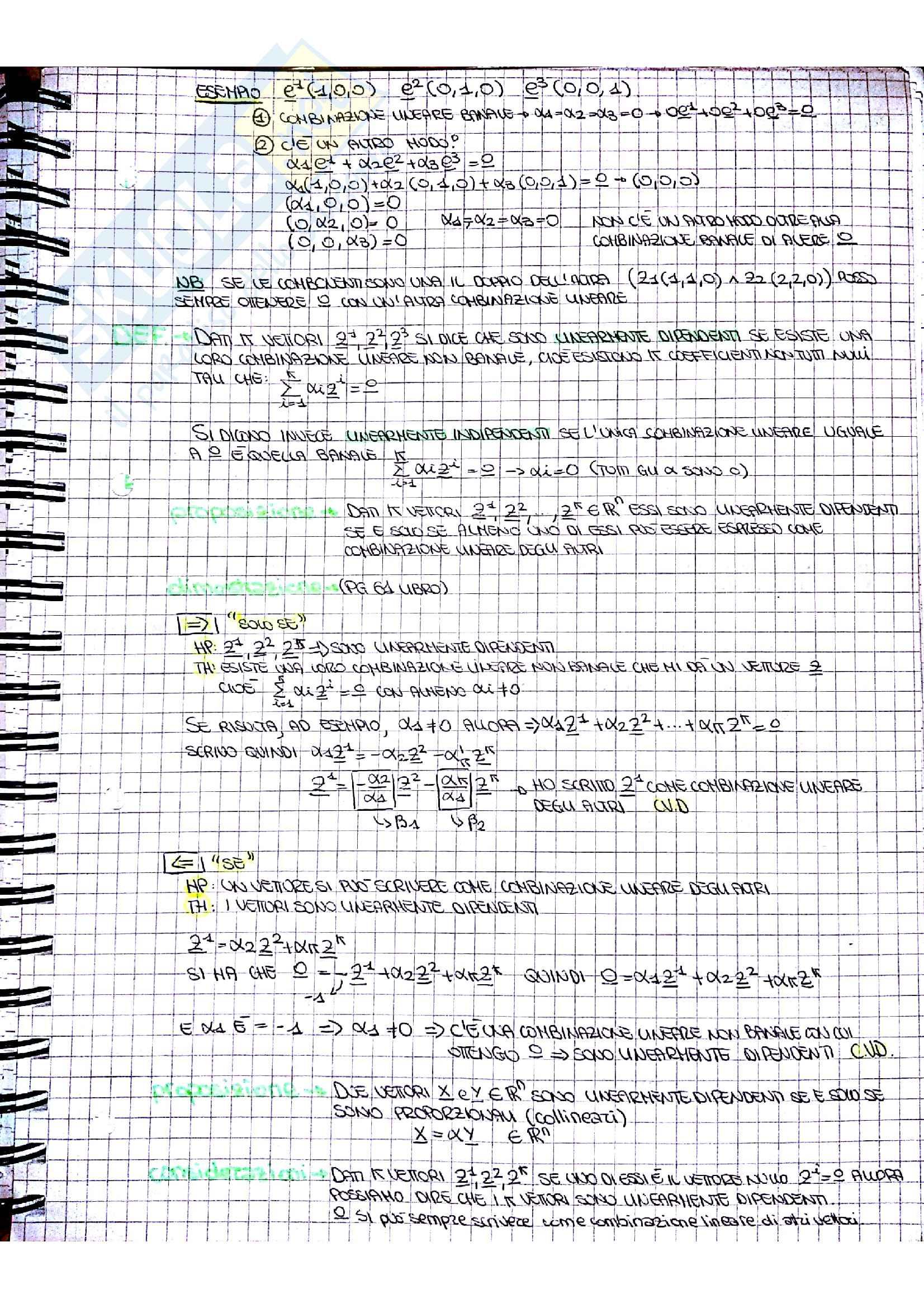 Appunti di matematica generale Pag. 21