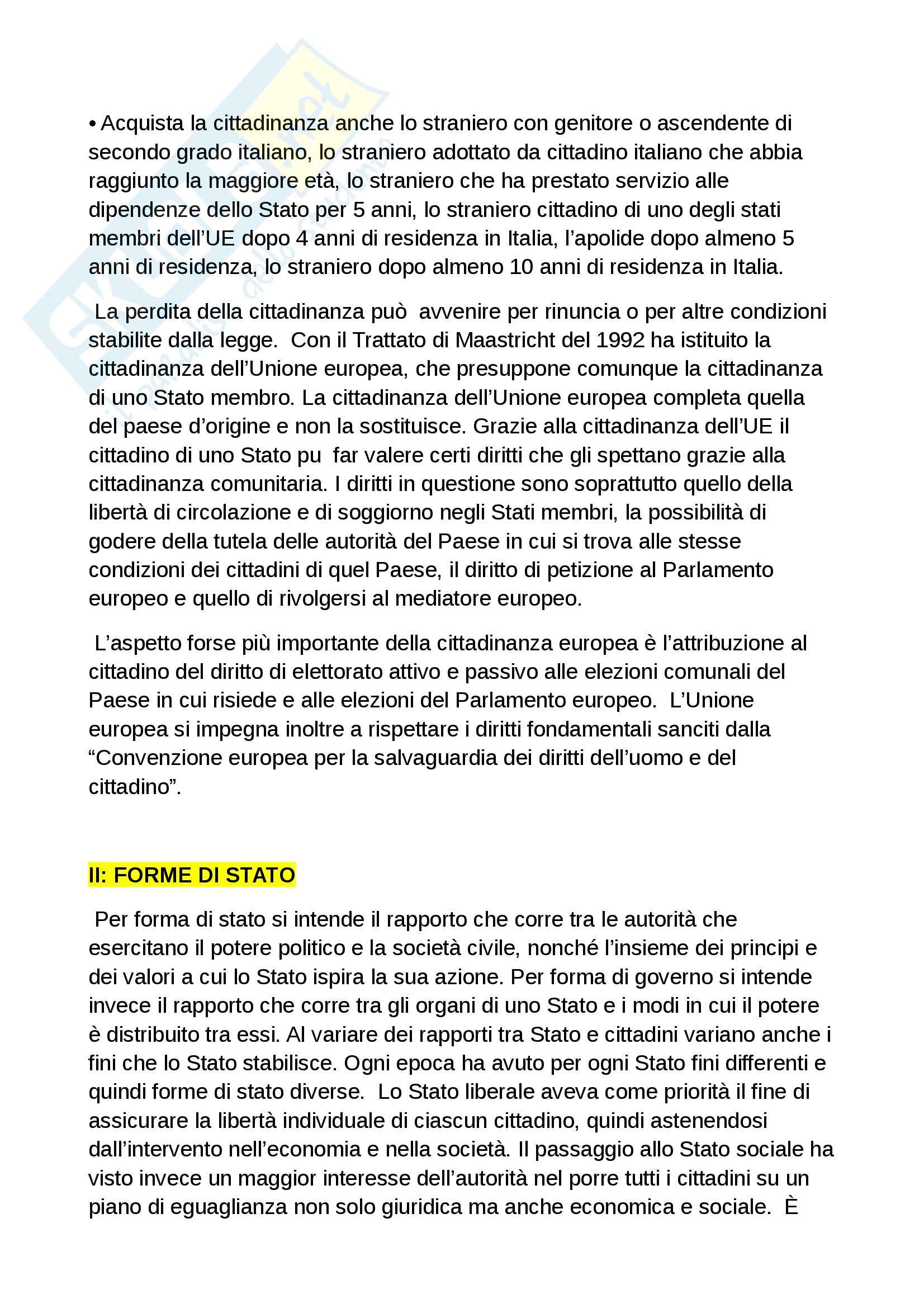 Riassunto esame diritto costituzionale, prof. Grosso, libro Diritto costituzionale, Bin, Pitruzzella Pag. 6