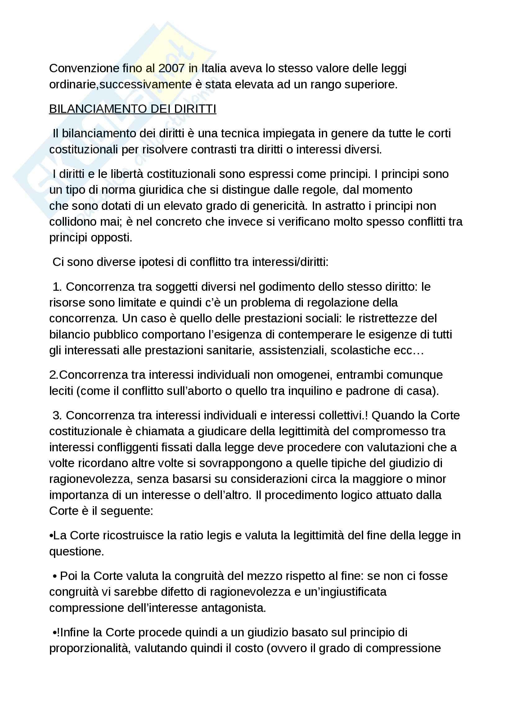 Riassunto esame diritto costituzionale, prof. Grosso, libro Diritto costituzionale, Bin, Pitruzzella Pag. 86