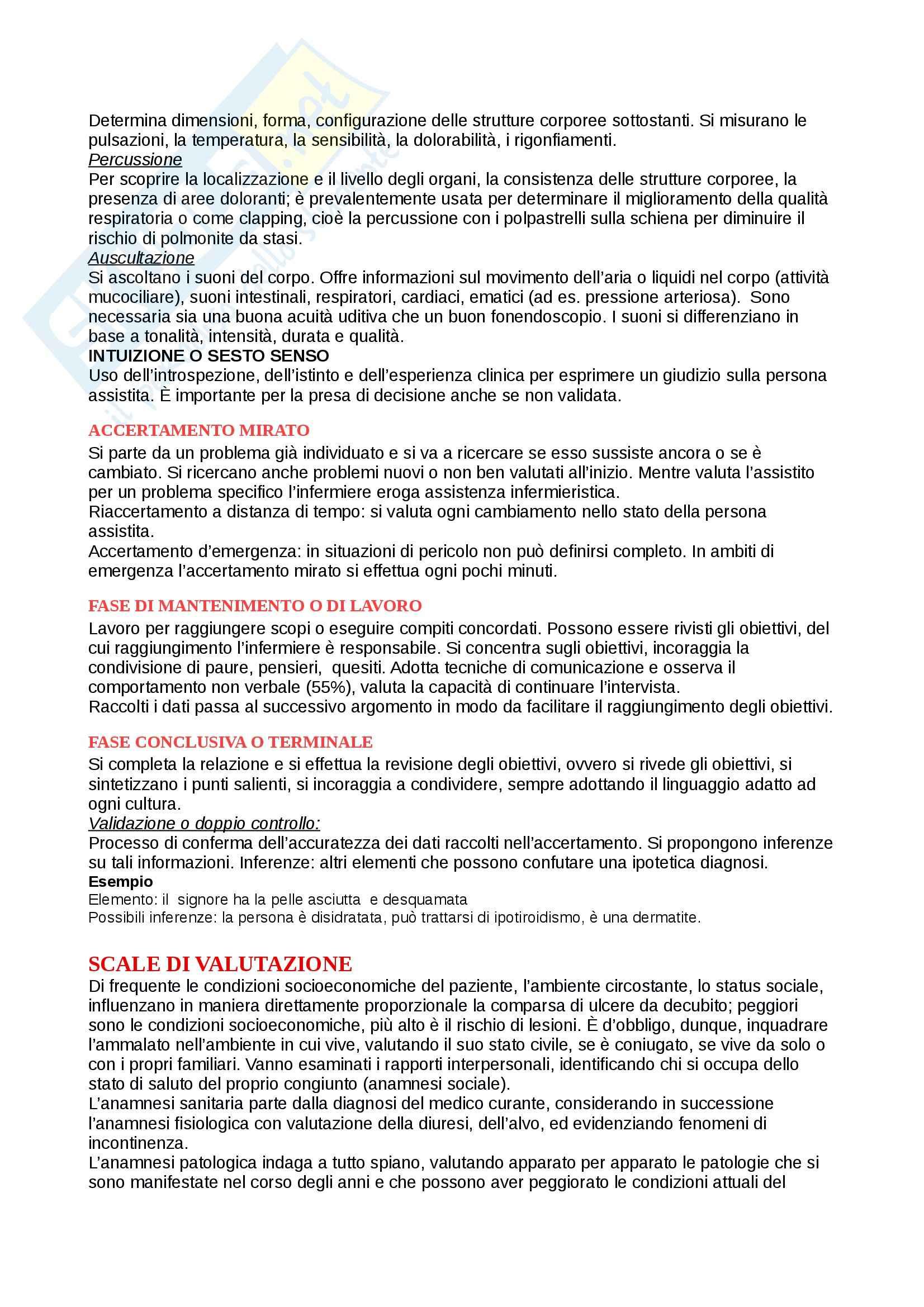Infermieristica - infermieristica in area medica Pag. 6