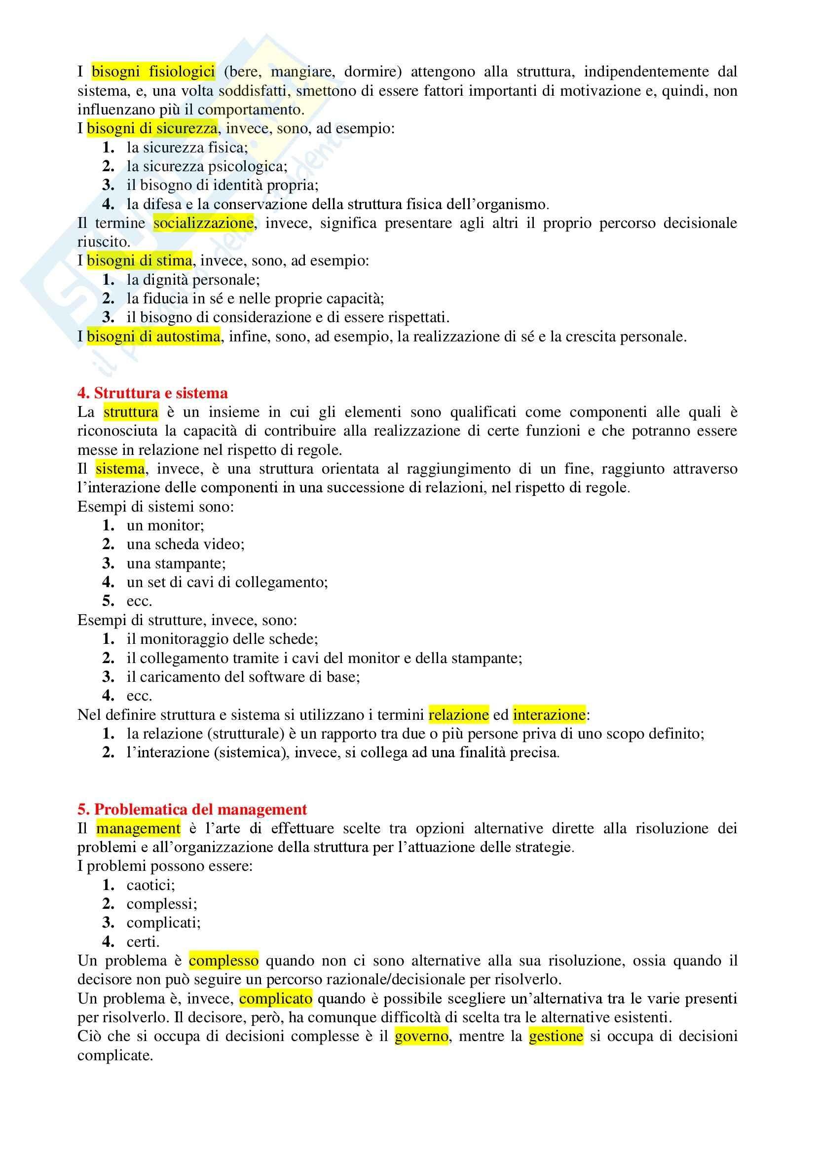 Fondamenti di Management - Appunti Pag. 2