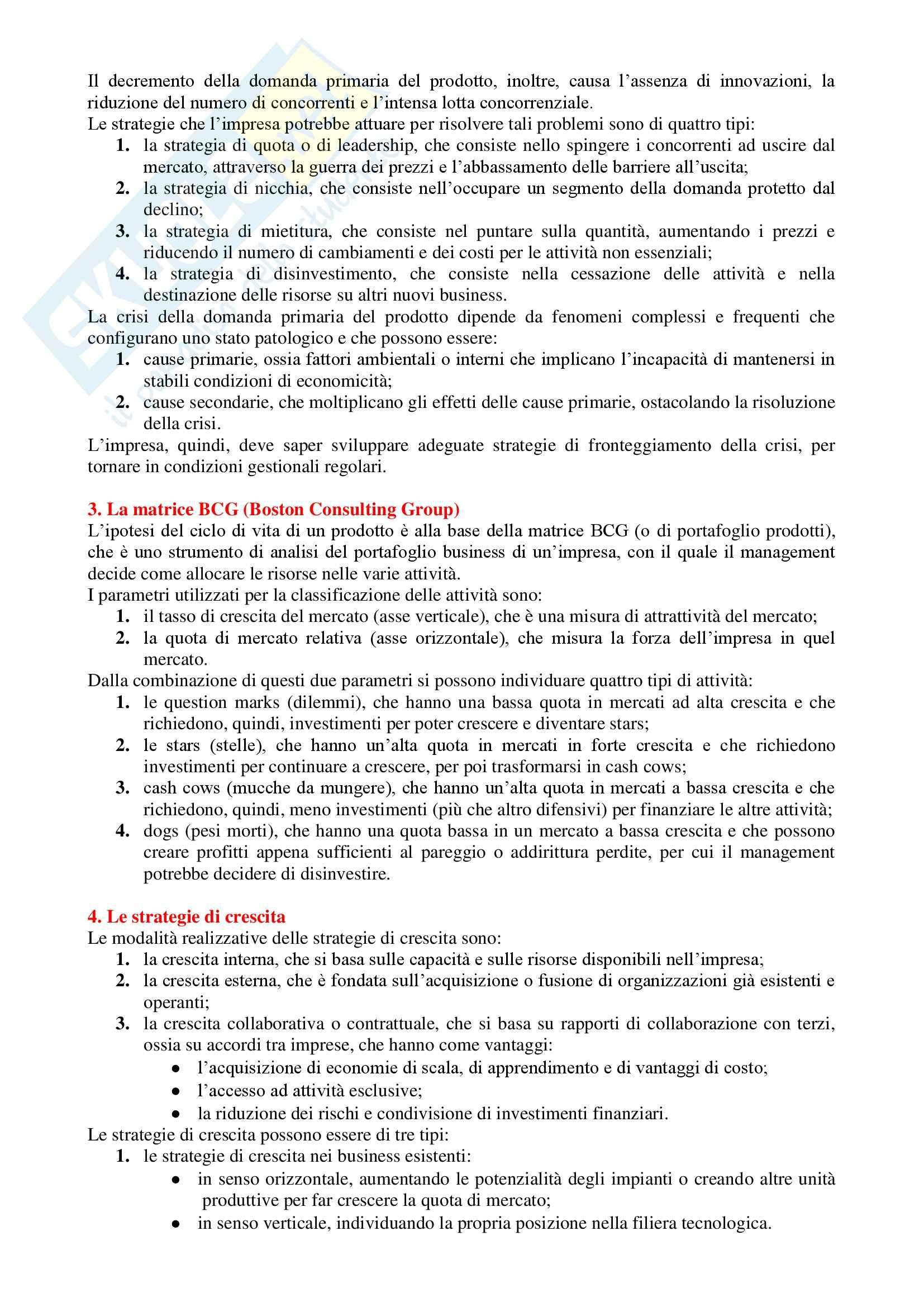 Fondamenti di Management - Appunti Pag. 26