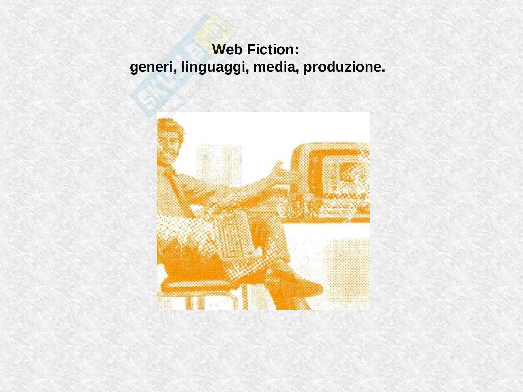Appunti Web serie