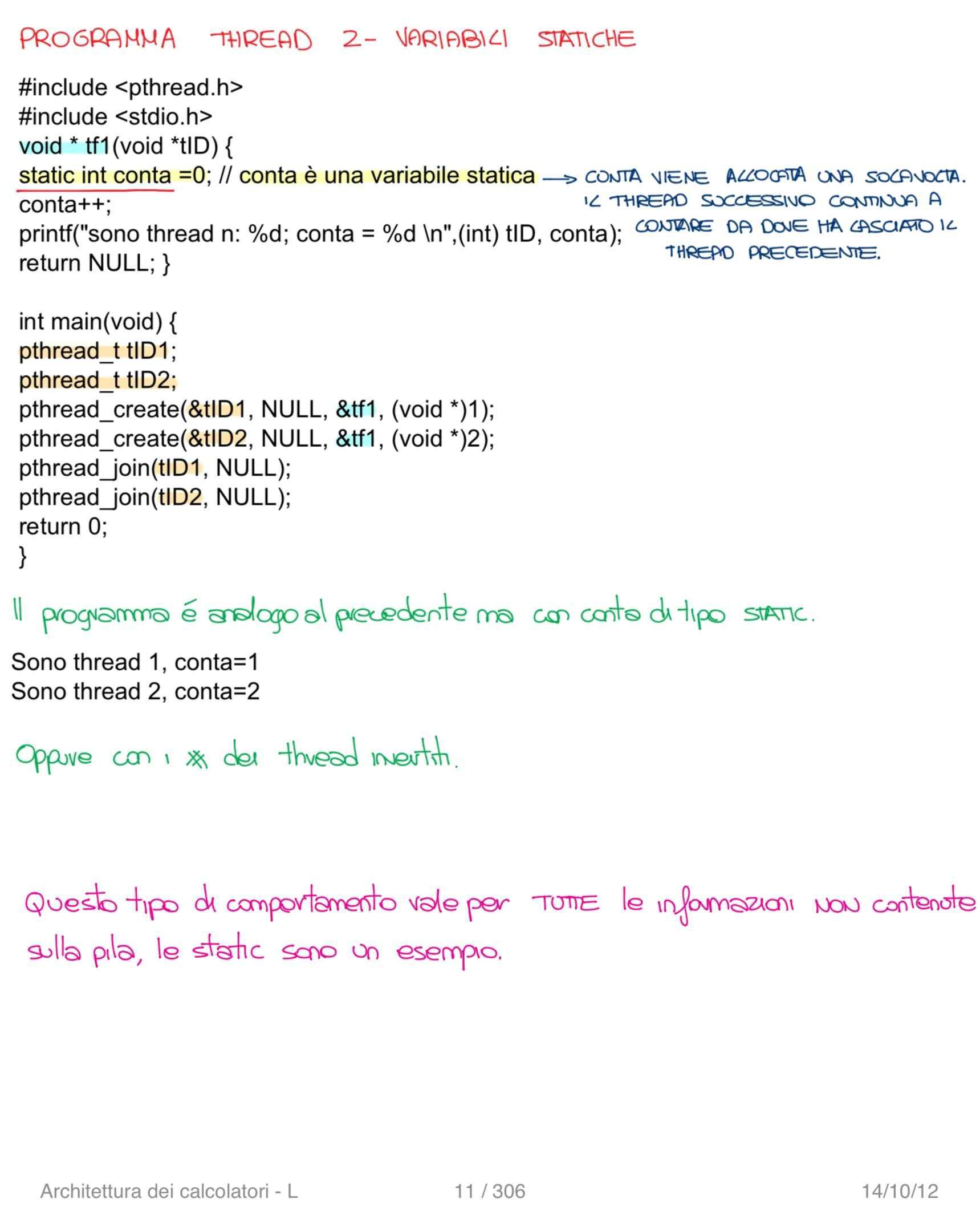 Architettura dei calcolatori e sistemi operativi - Appunti Pag. 11