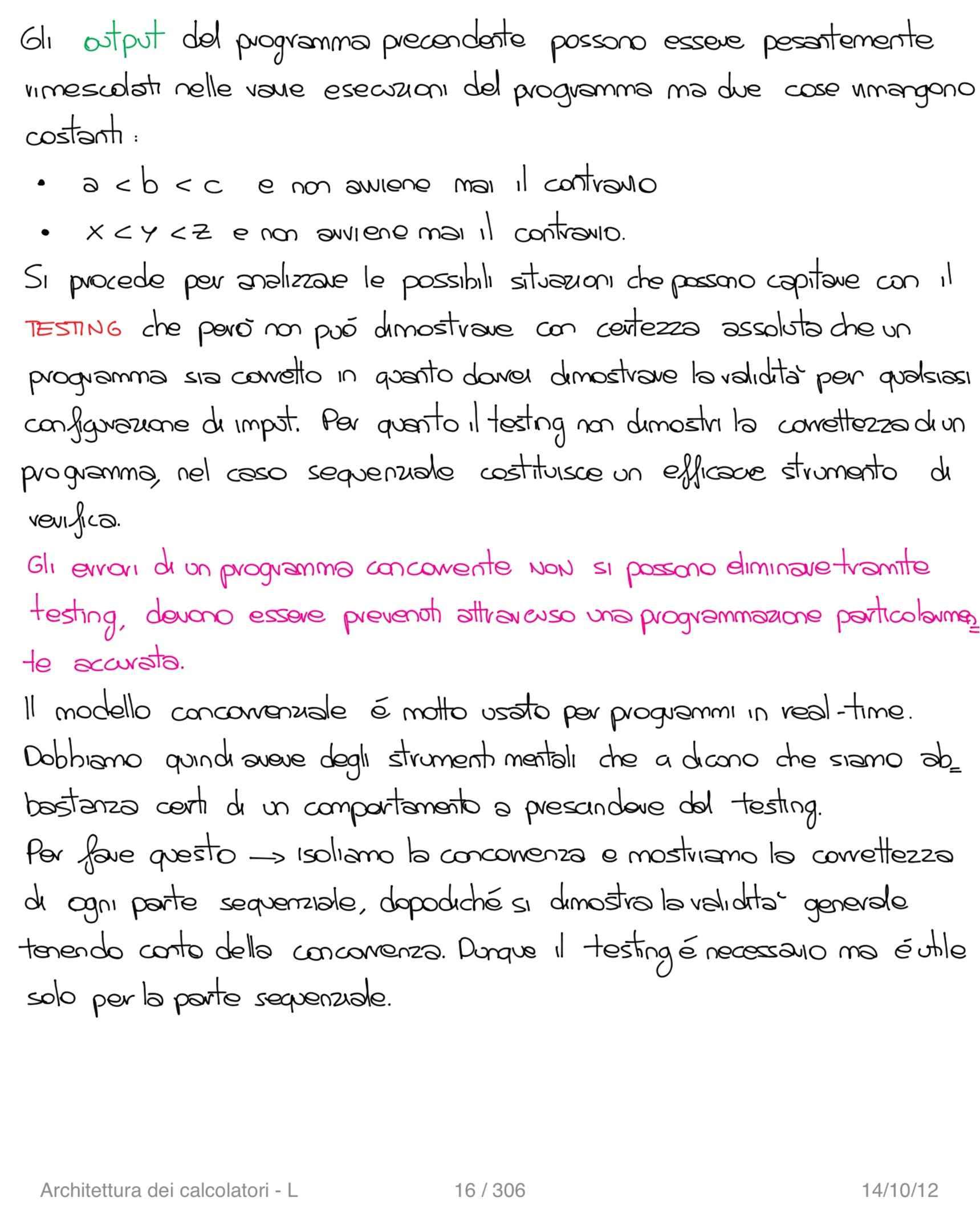 Architettura dei calcolatori e sistemi operativi - Appunti Pag. 16
