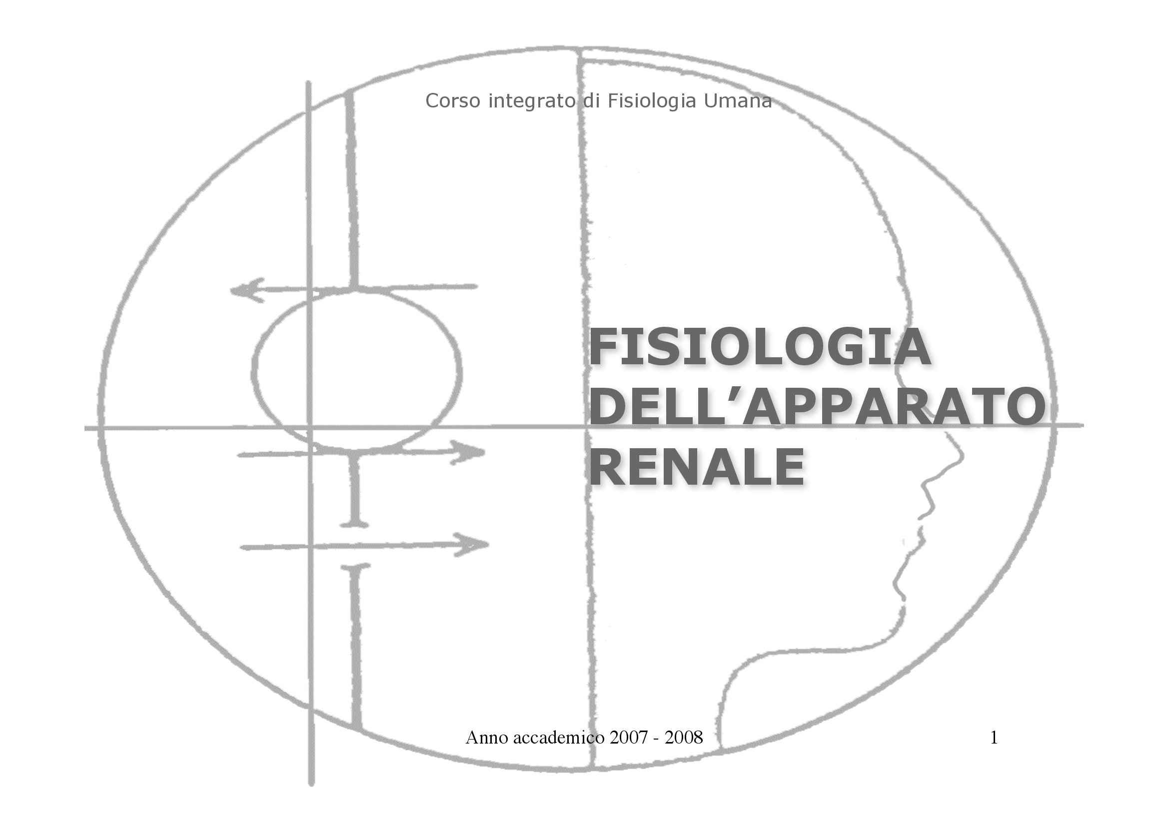 dispensa G. Cibelli Fisiologia Umana I