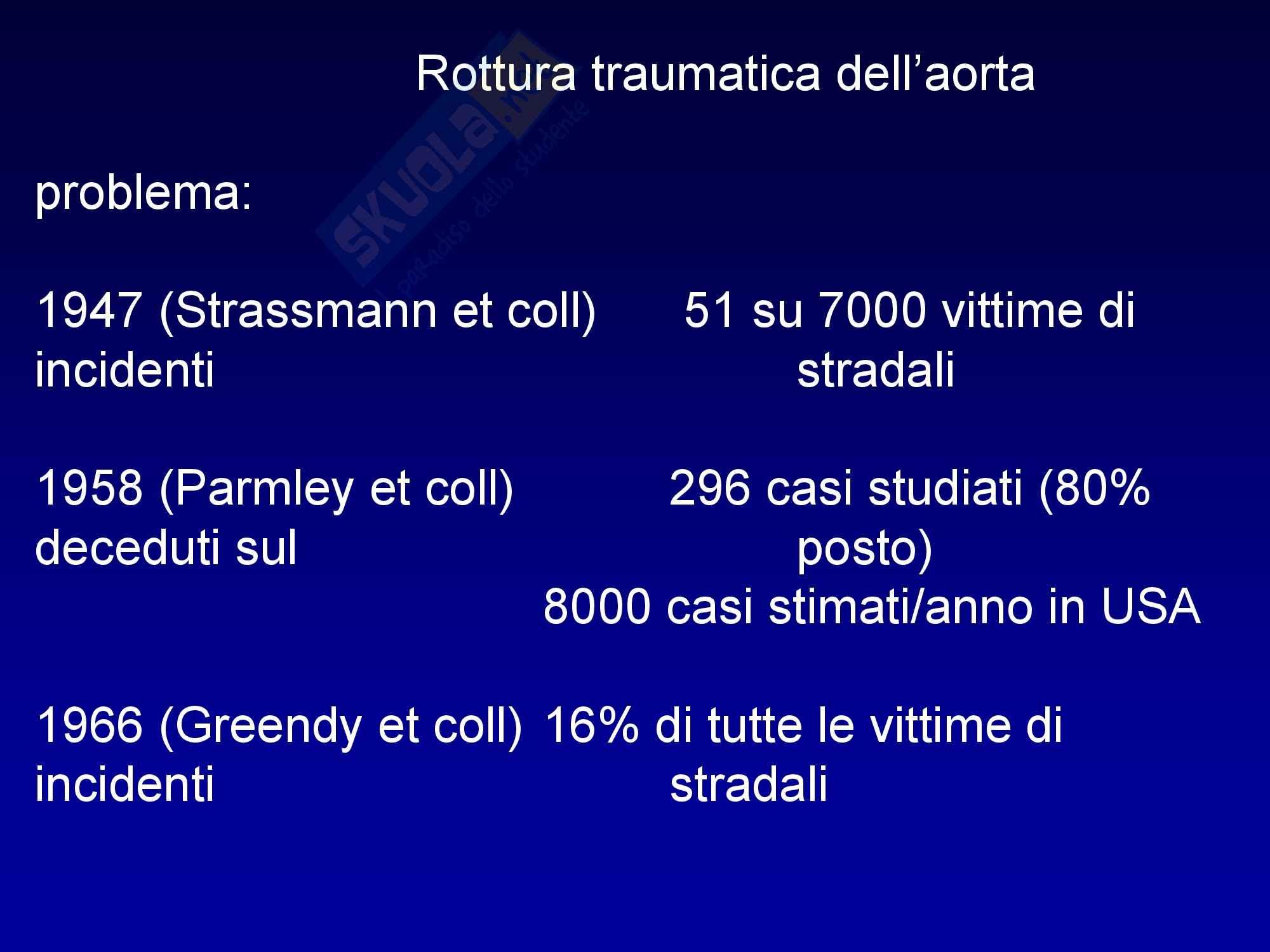 Anestesia - Trauma