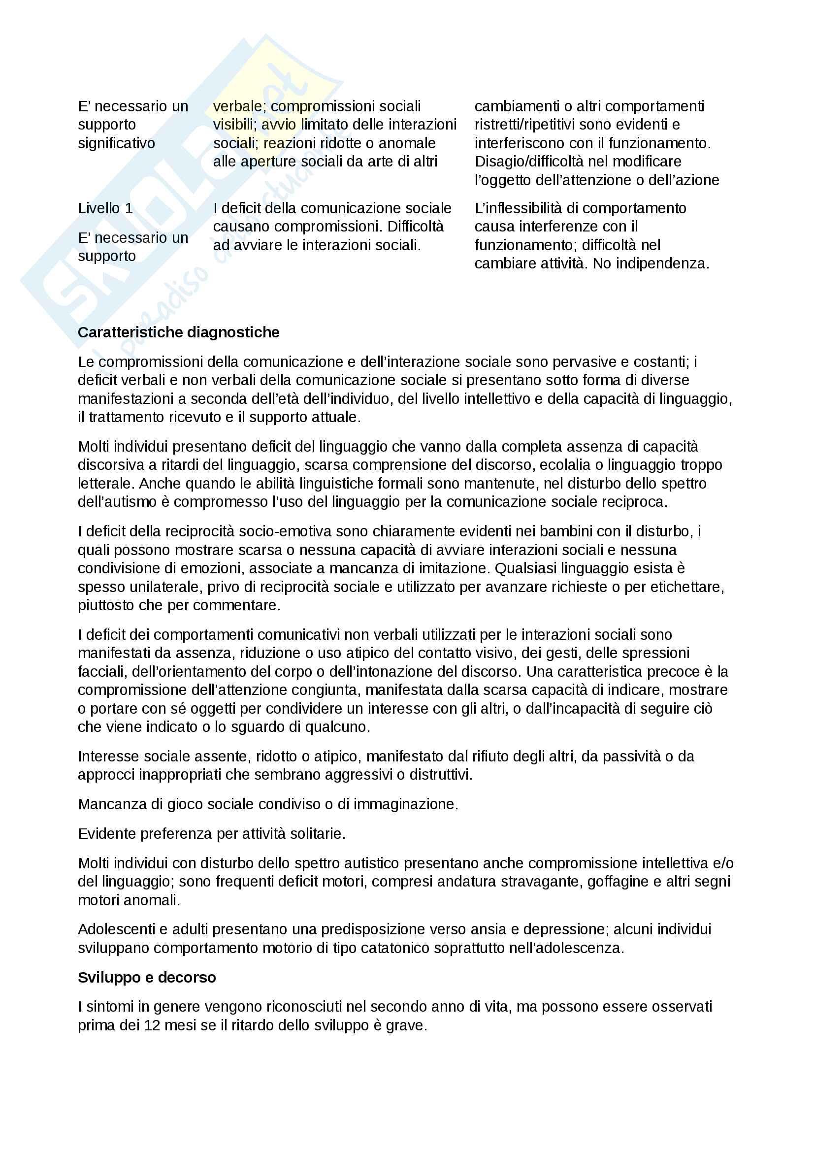 neuropsichiatria infantile Pag. 2