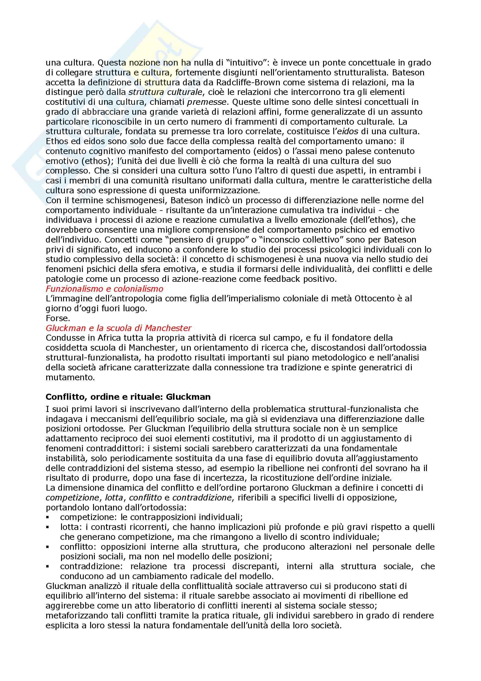 Storia dell'antropologia - Appunti Pag. 41