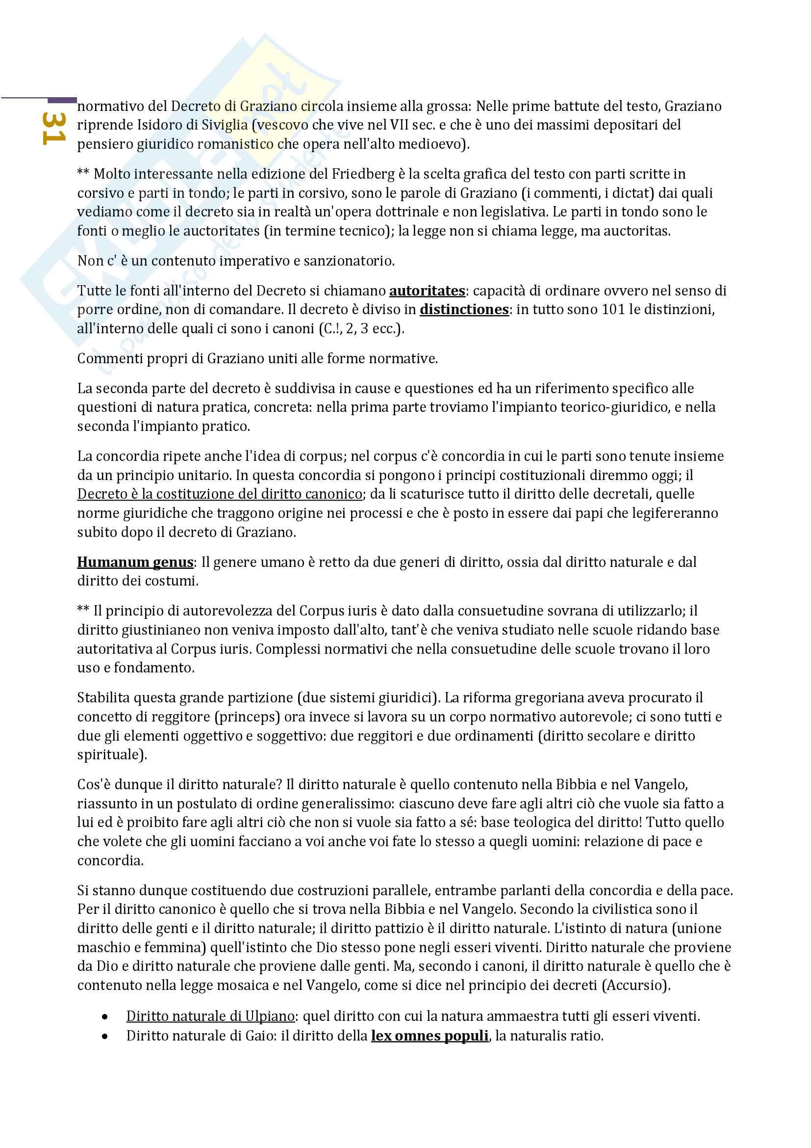 Storia del diritto medievale e moderno 1 Prof.ssa Natalini (Unitn). Pag. 31