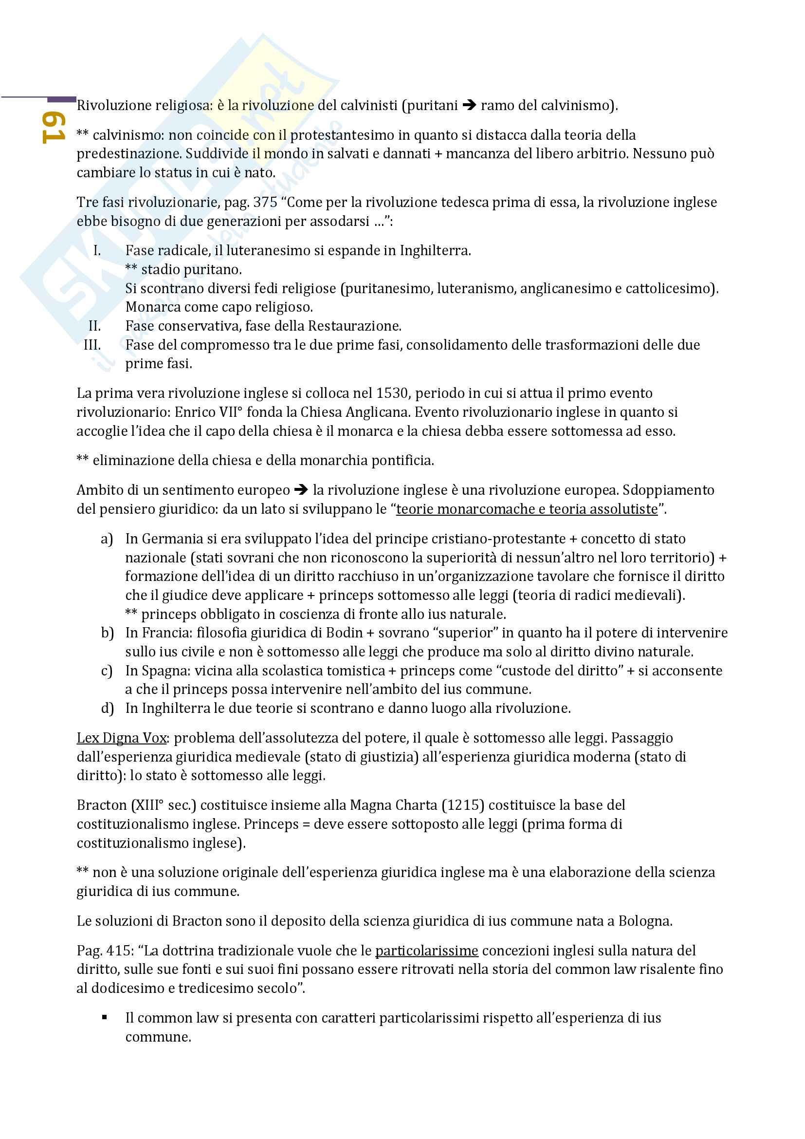 Storia del diritto medievale e moderno 1 Prof.ssa Natalini (Unitn). Pag. 61