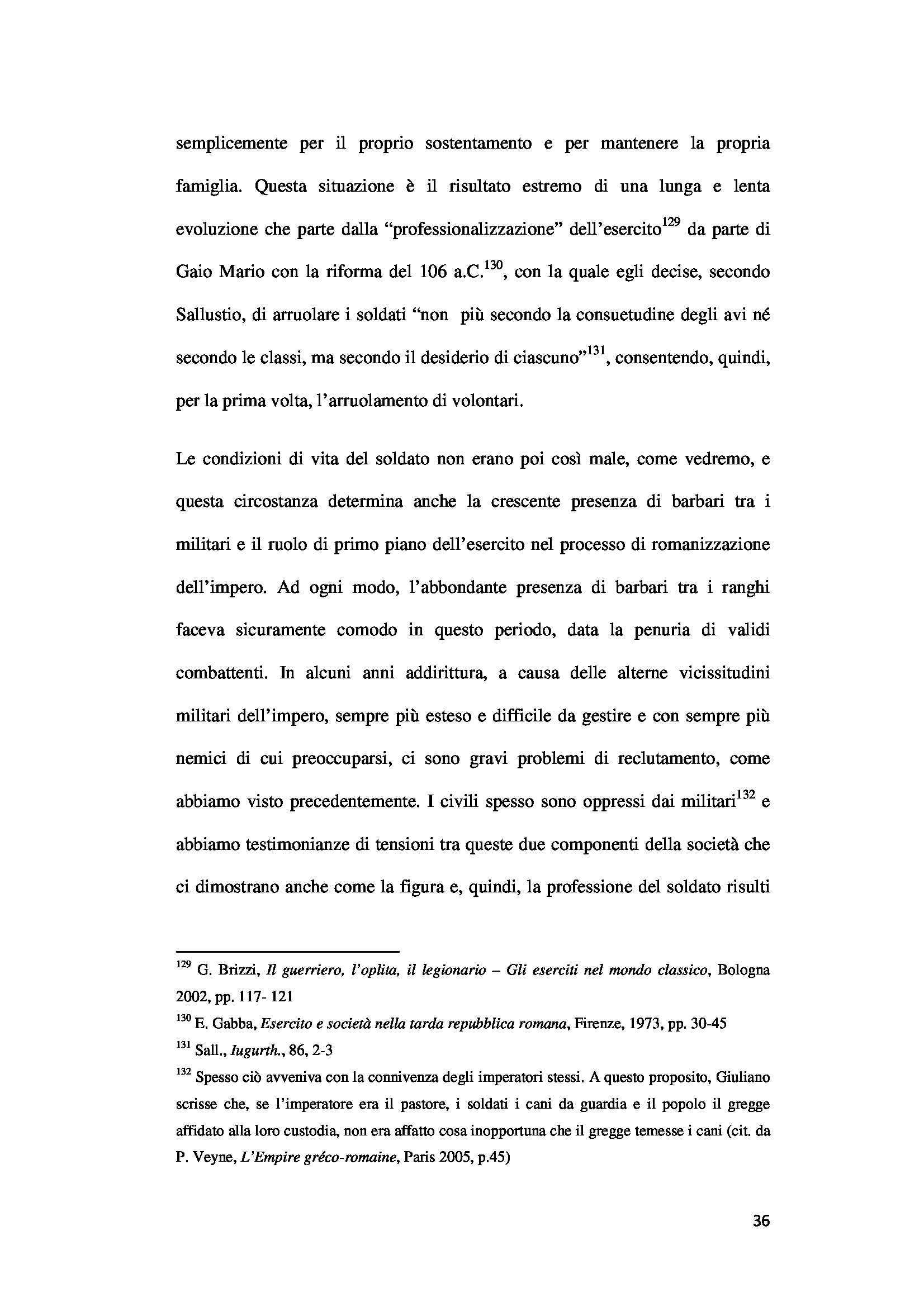 """""""Il soldato nella Tarda Antichità"""" di dr. Ilaria Provasio Pag. 36"""