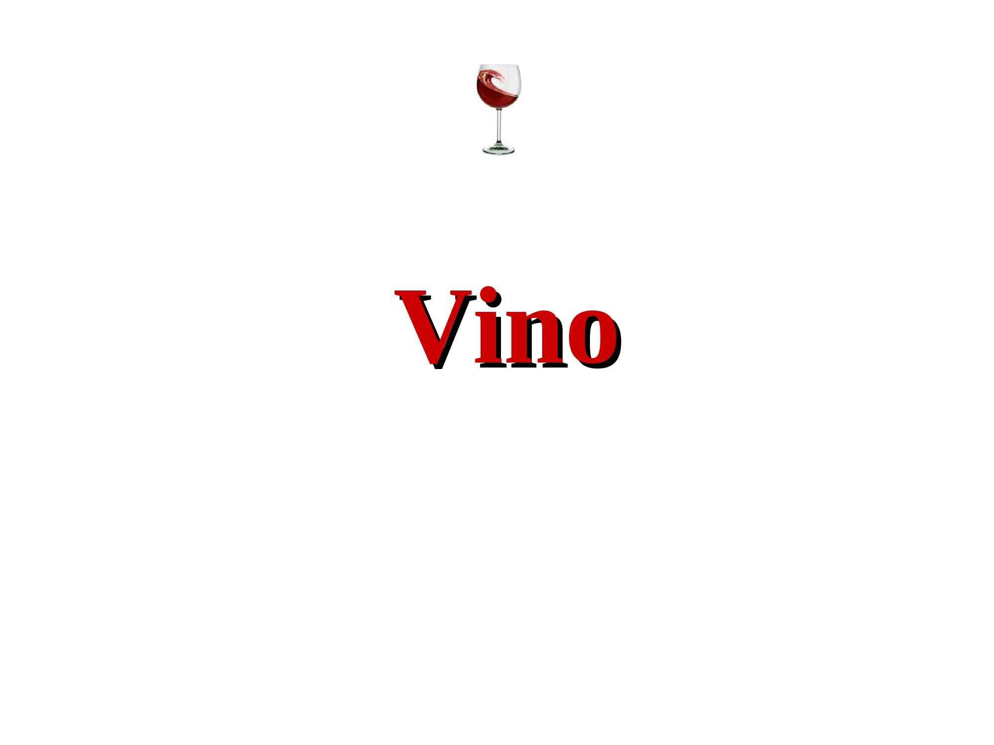 Vino - Fermentazione e composizione