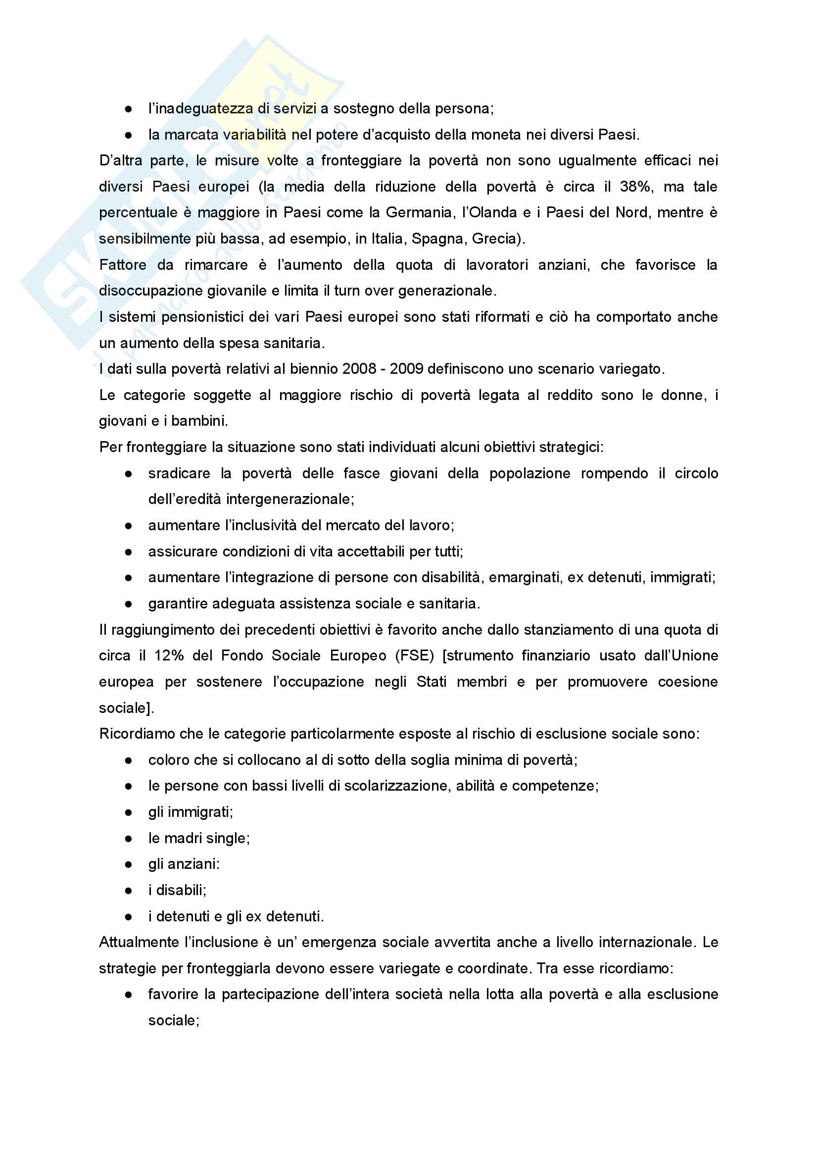 """Sunto di Didattica e Pedagogia dell'inclusione, prof.ssa Cristina Palmieri, libro consigliato """"Pratiche educative per l'inclusione sociale"""" a cura di Maura Striano Pag. 2"""