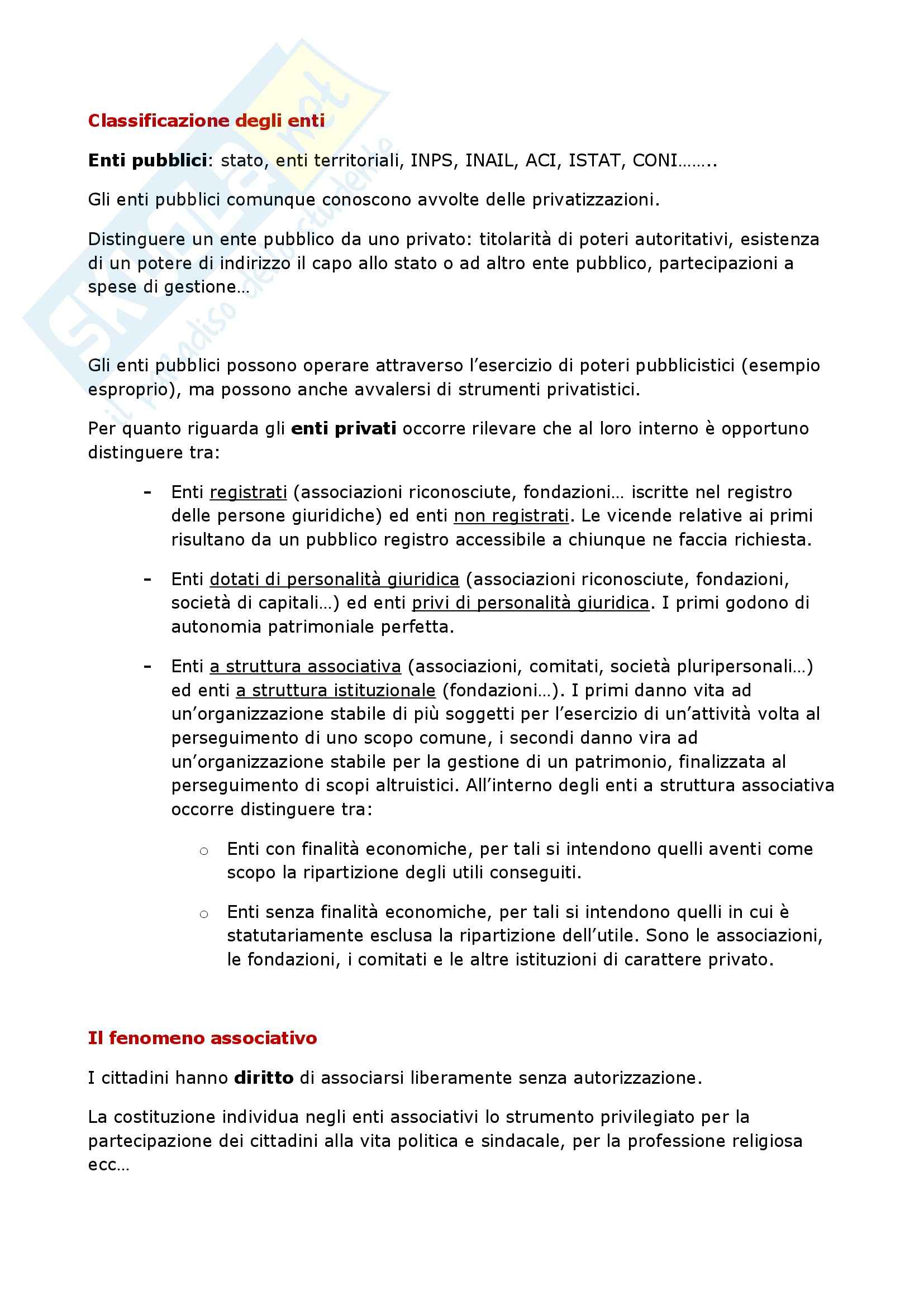 Riassunto esame Manuale di Diritto Privato, Torrente, Schlesinger, prof. Stefini Pag. 36