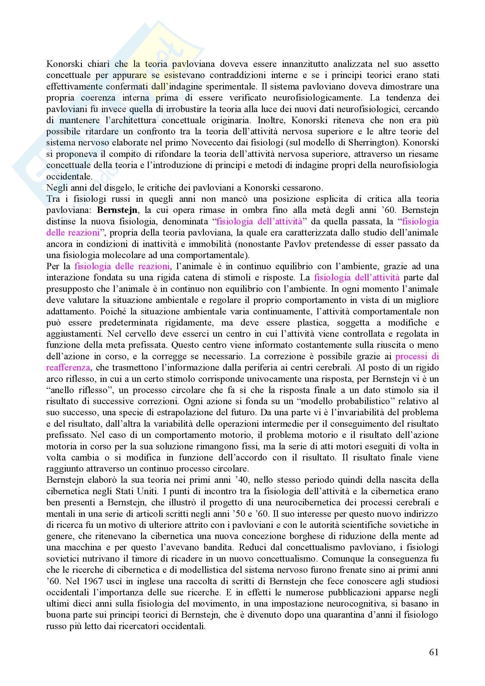 Storia della psicologia Pag. 61