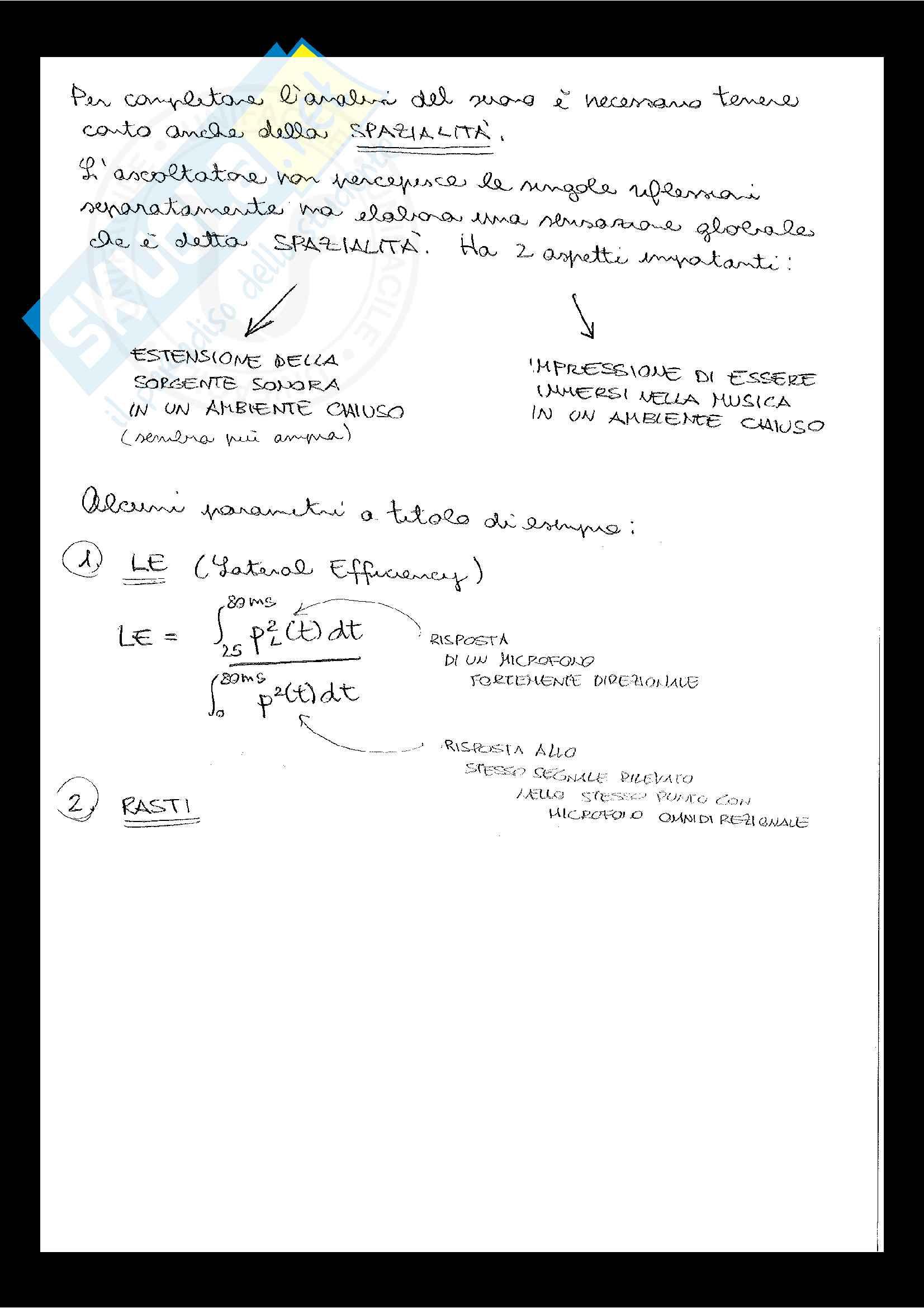 Appunti completi acustica e illuminotecnica perfetti Pag. 41
