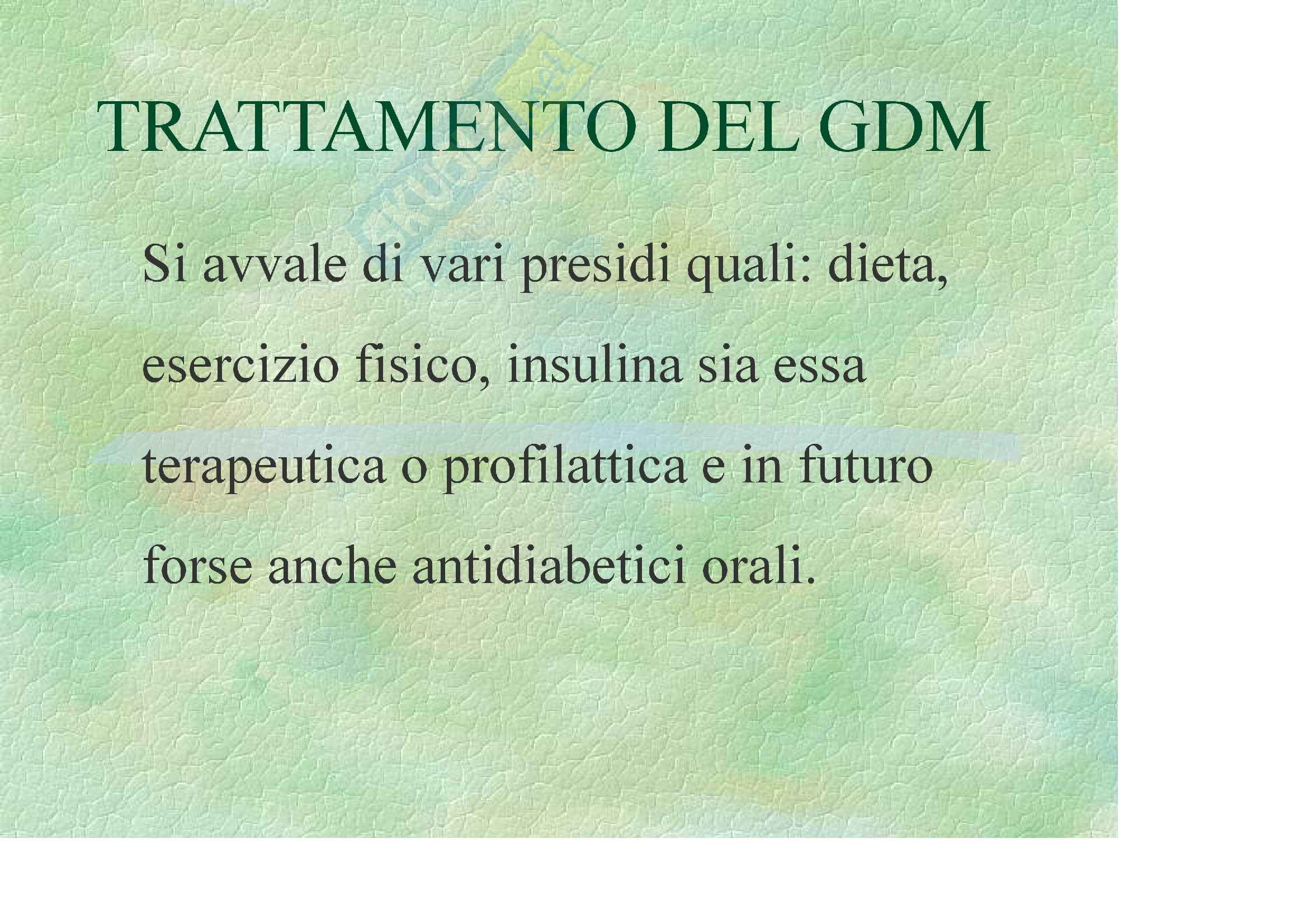 Ginecologia e ostetricia – Diabete gestazionale Pag. 2