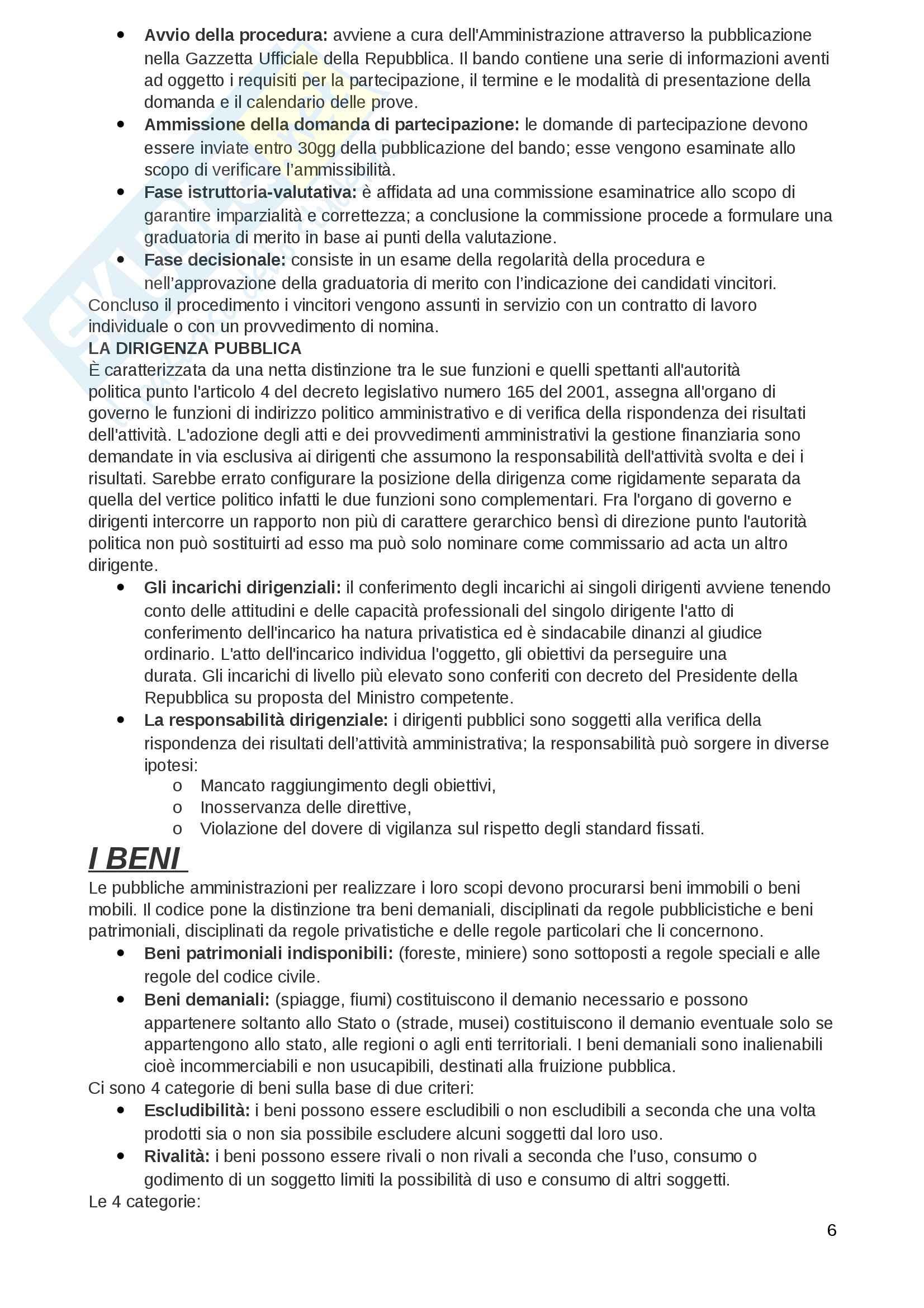 Diritto amministrativo riassunto Pag. 6