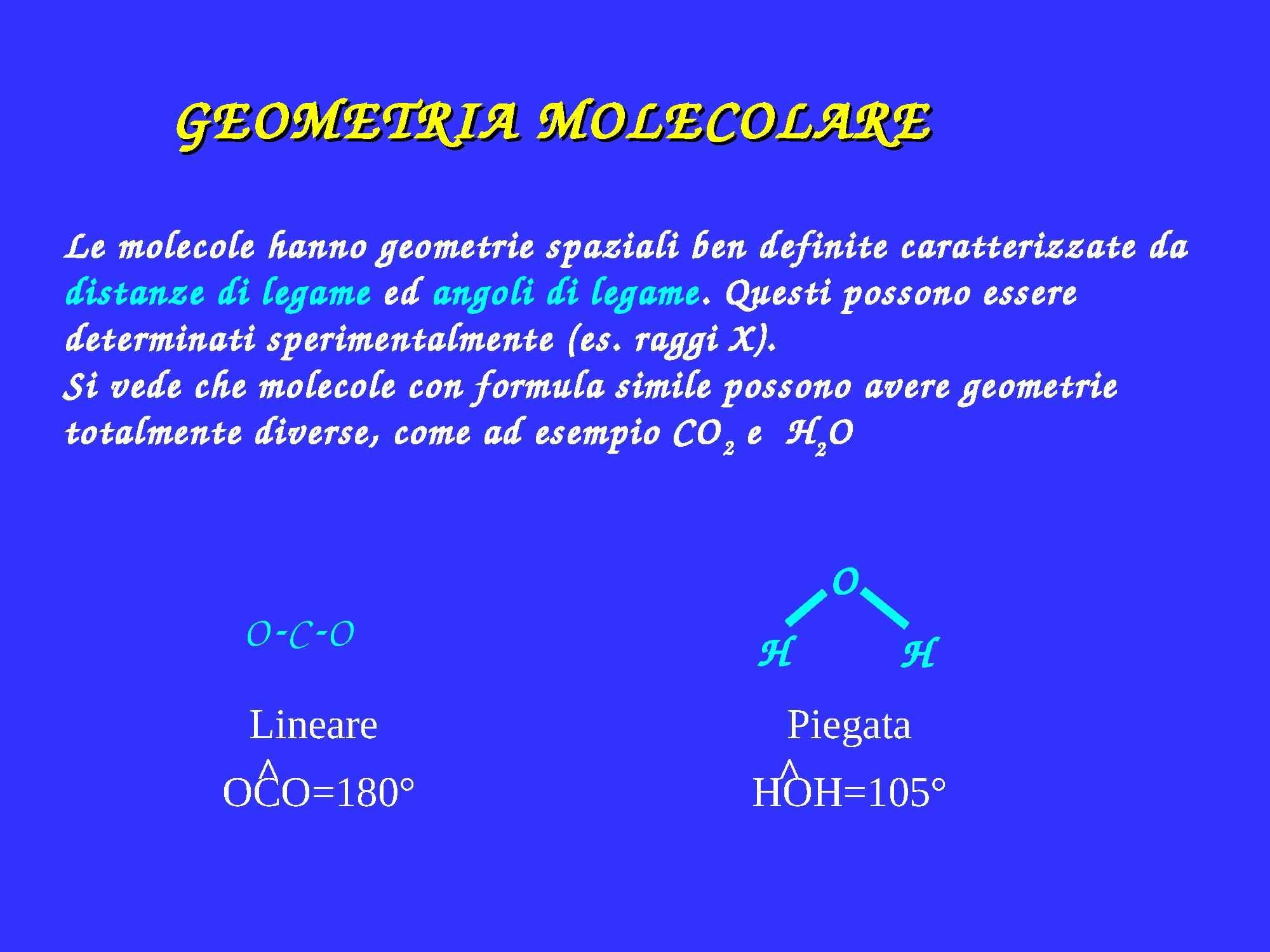 Geometria molecolare