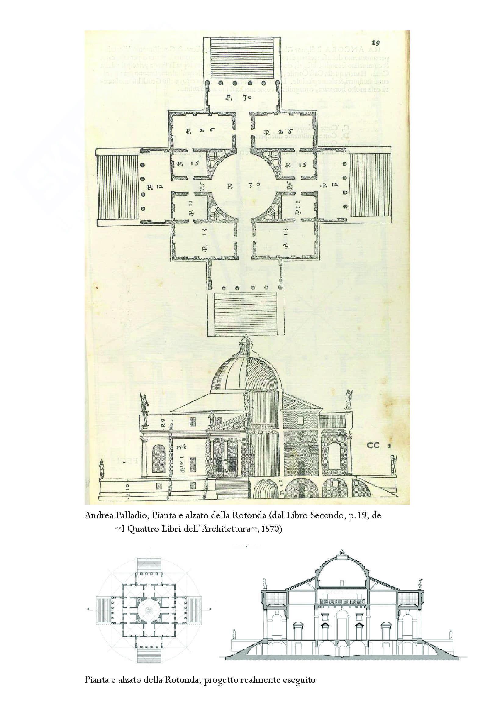 Approfondimento Palladio e La Rotonda: Storia dell'architettura moderna Pag. 11
