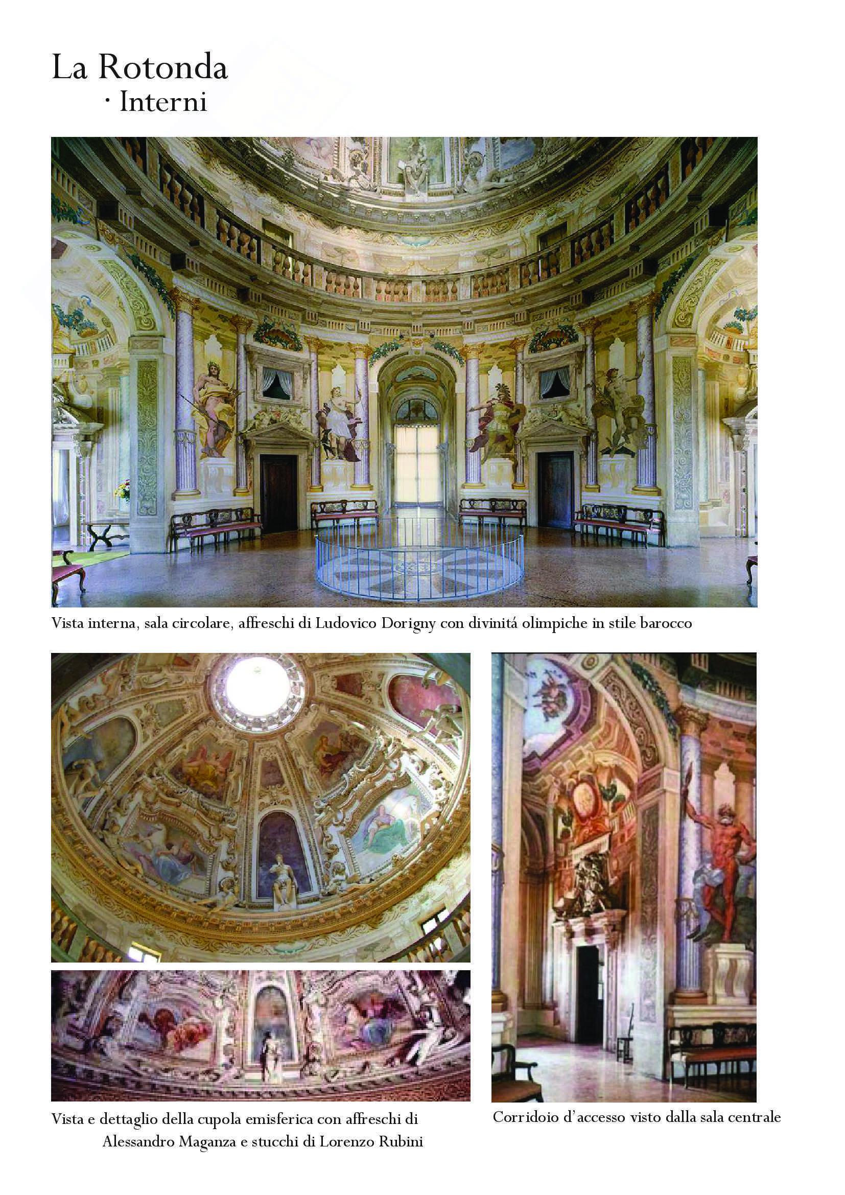 Approfondimento Palladio e La Rotonda: Storia dell'architettura moderna Pag. 16