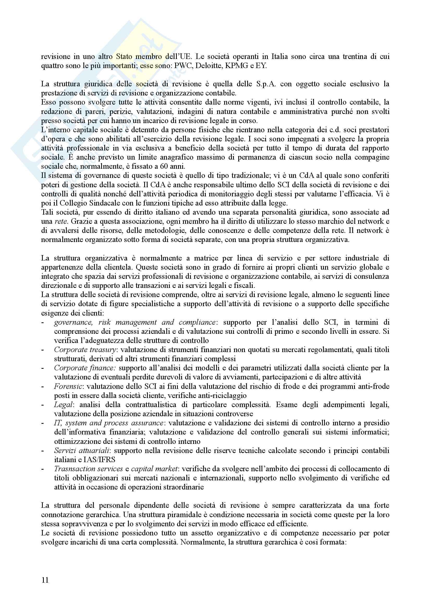 Appunti Revisione Aziendale Pag. 11