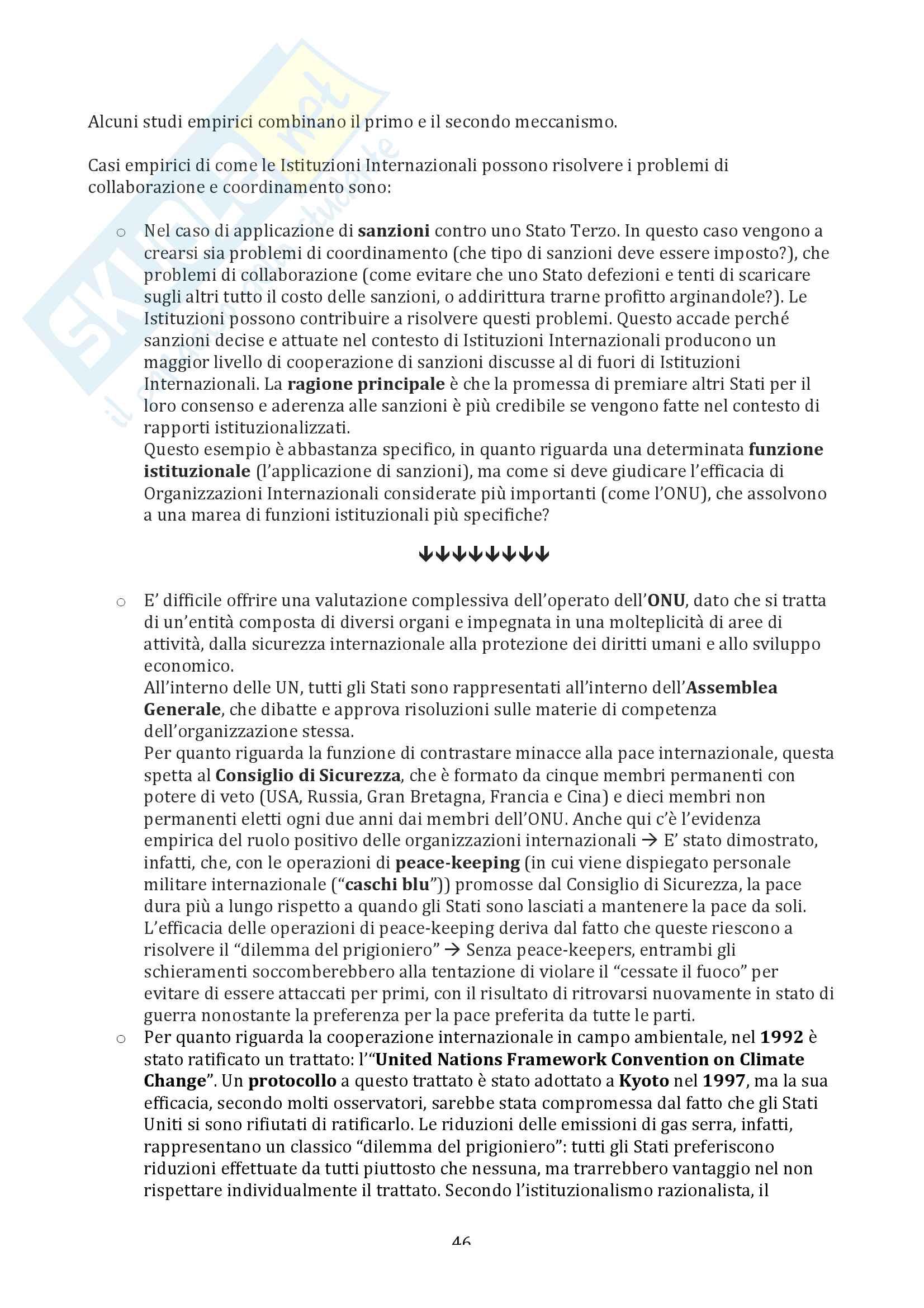 Riassunto esame Relazioni Internazionali - Prof. Parsi Pag. 46