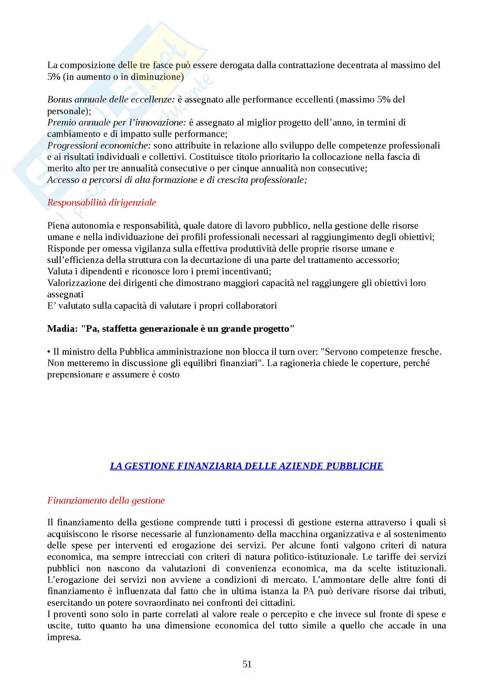 Management amministrazioni pubbliche Pag. 51