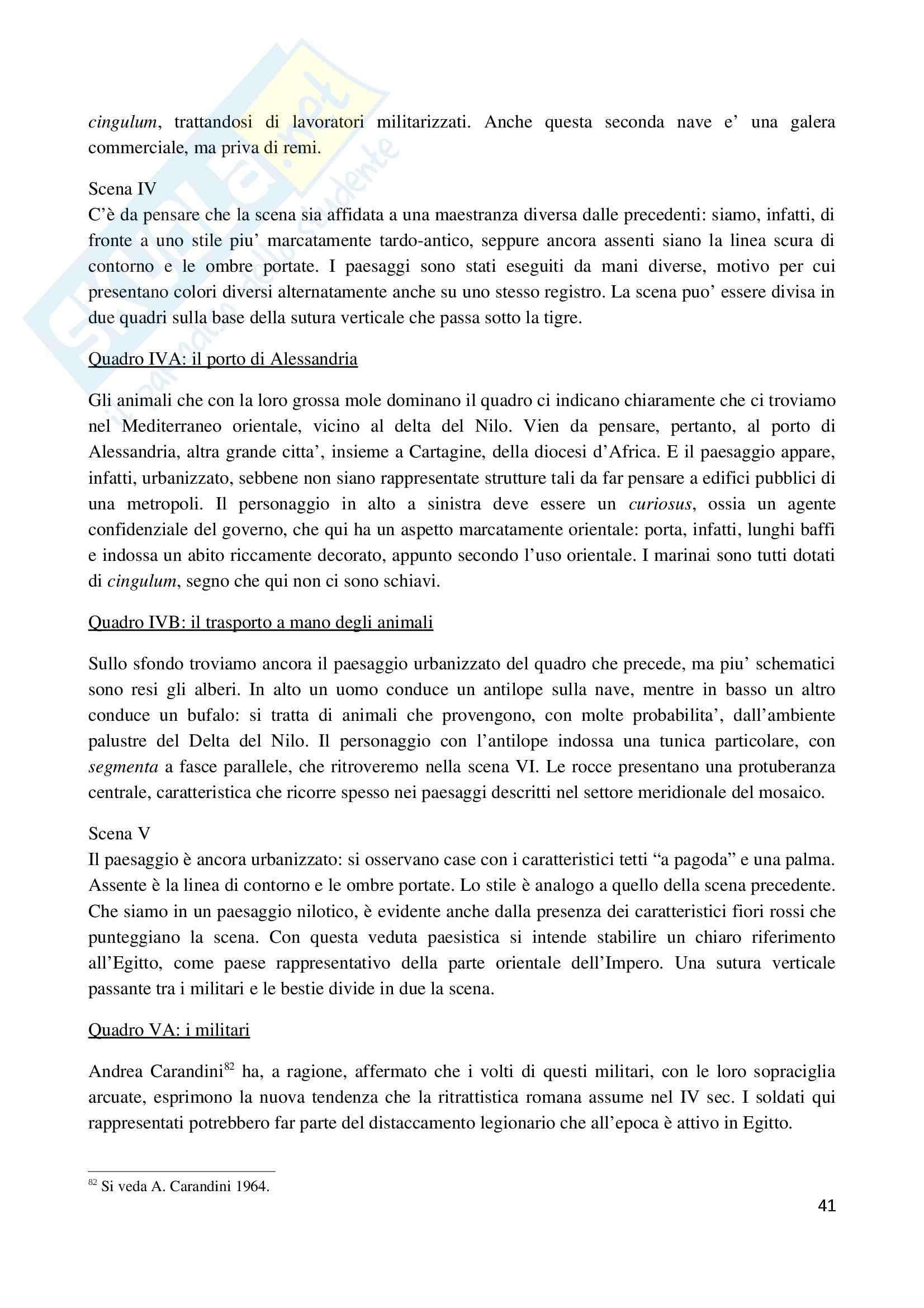 La villa romana di Piazza Armerina 2010, Archeologia e storia dell'arte Pag. 41